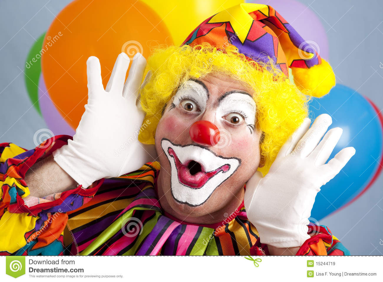 How To Paint A Funny Clown Face