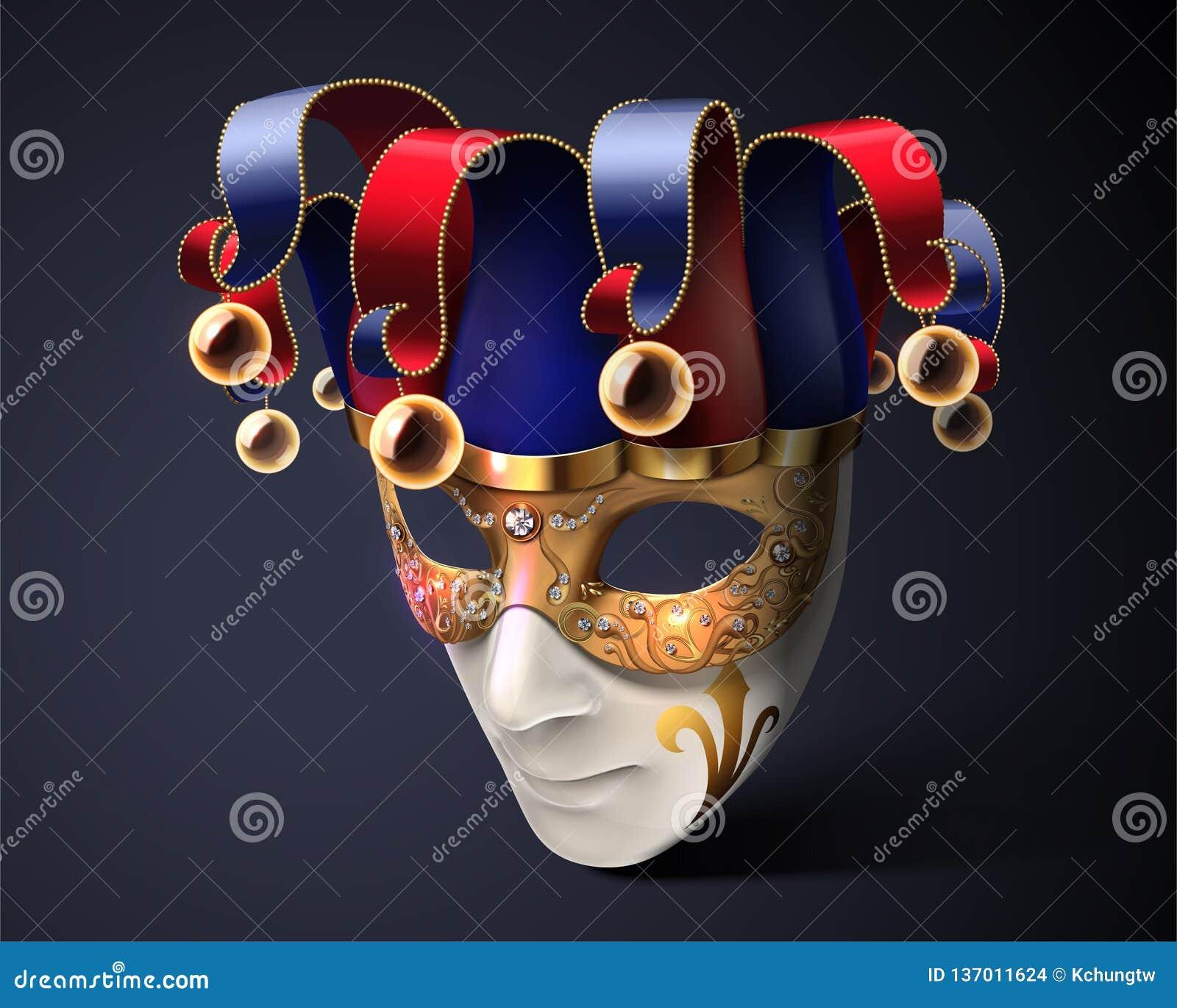 Clown mask design