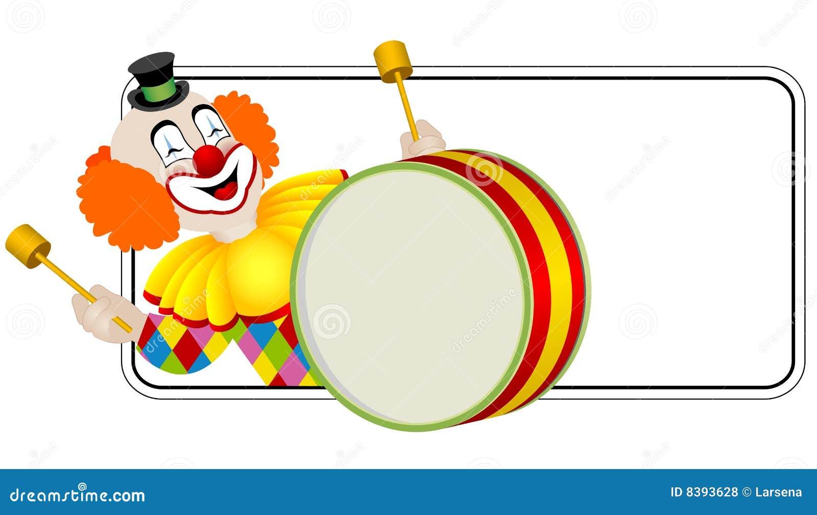 Clown o baterista
