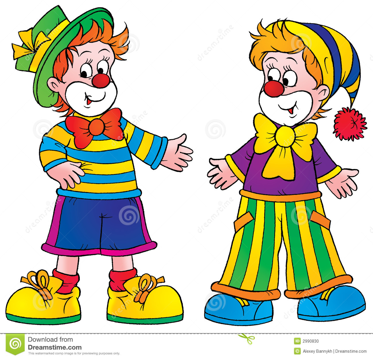 Clowns Stock Photo - Image: 2990830