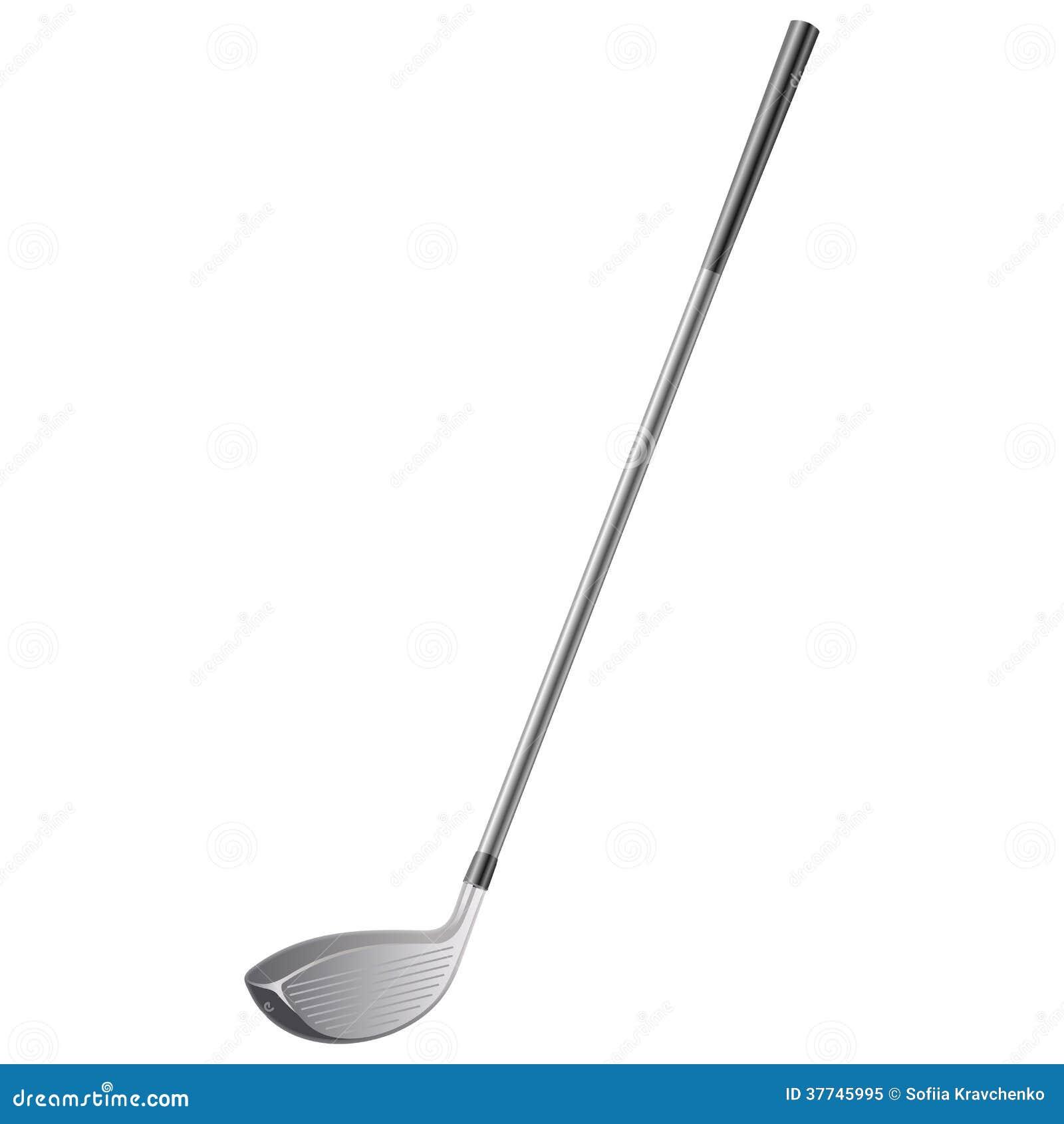 club de golf photo libre de droits image 37745995. Black Bedroom Furniture Sets. Home Design Ideas
