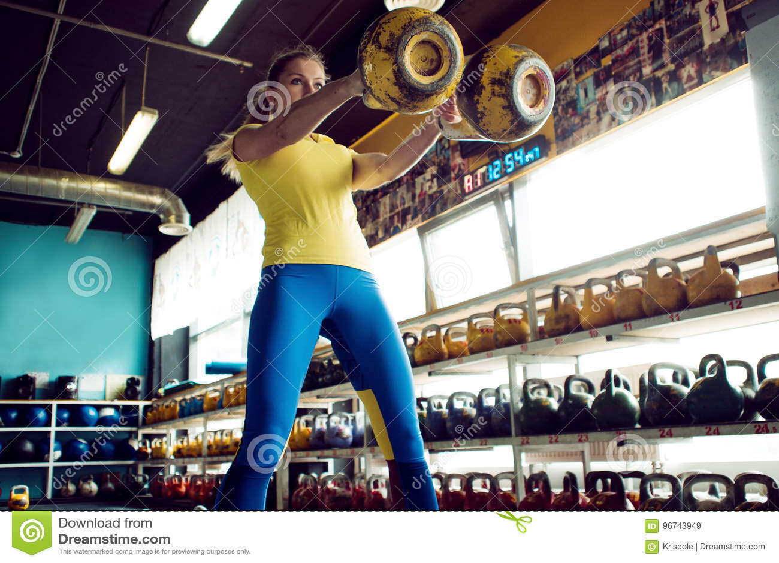 hacer ciclos en el gym