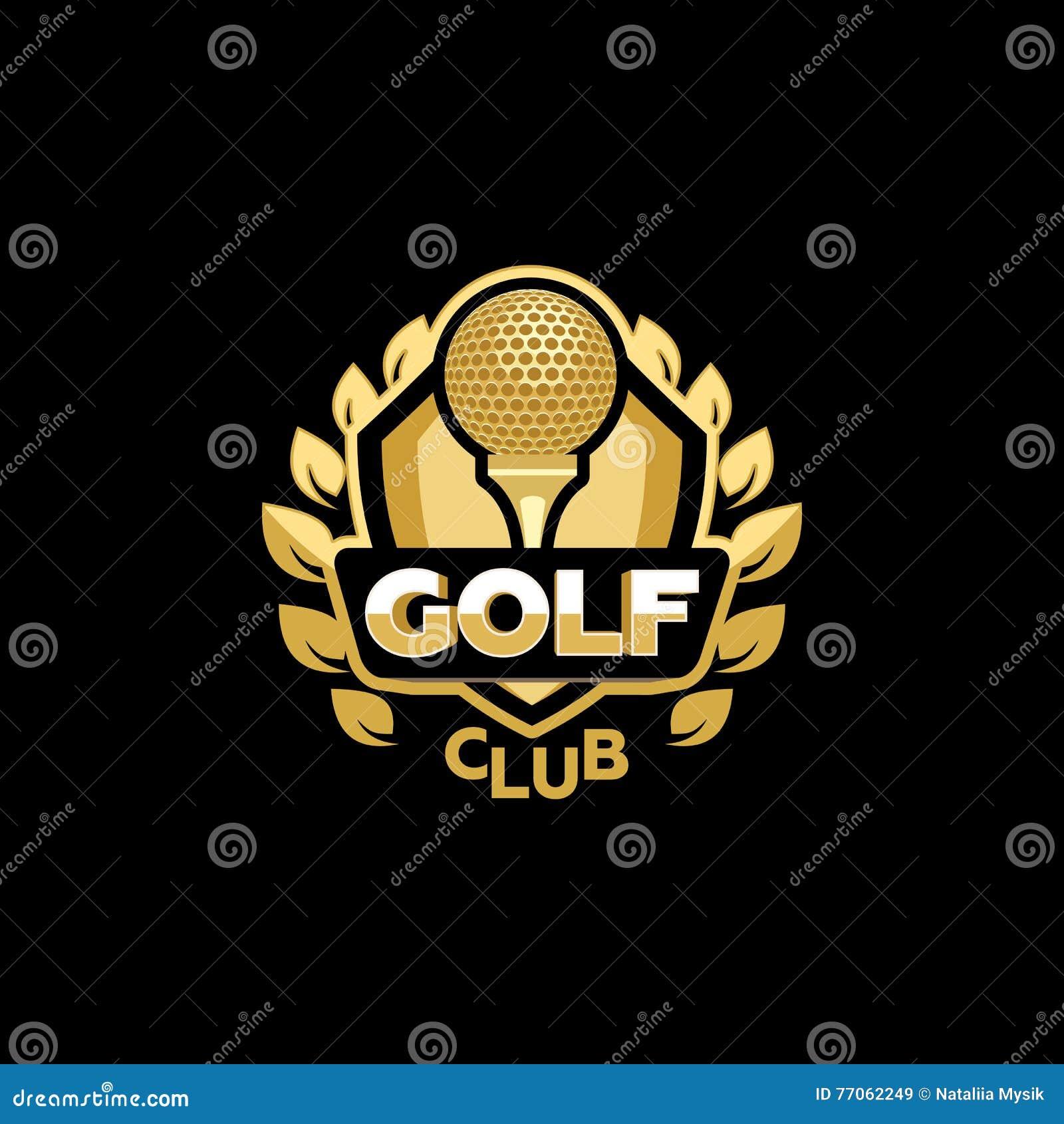 Club di golf dorato
