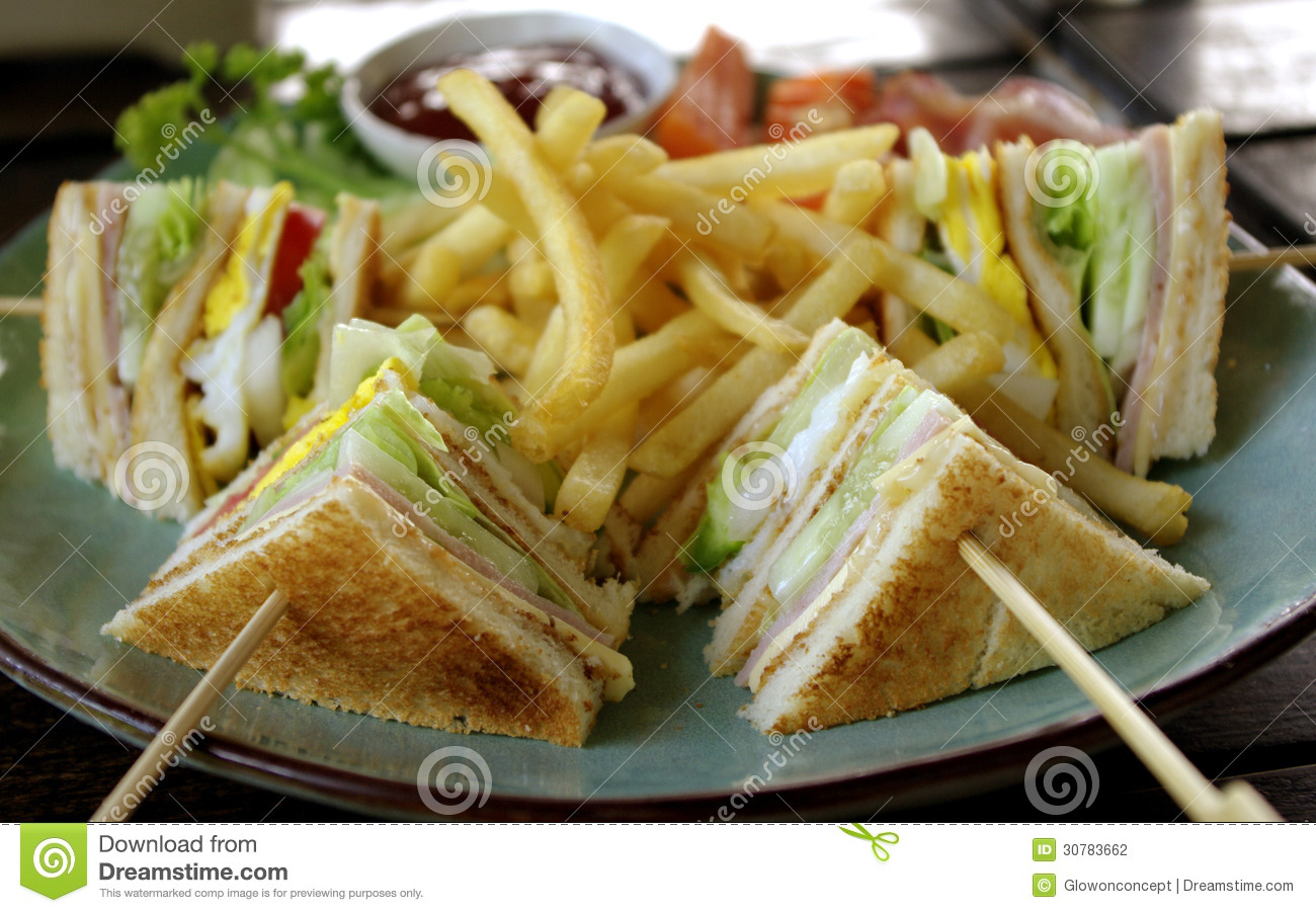how to make healthy club sandwich
