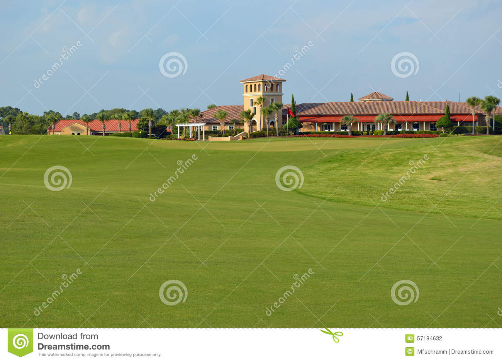 Clube de golfe grandioso das dunas, SC de Myrtle Beach