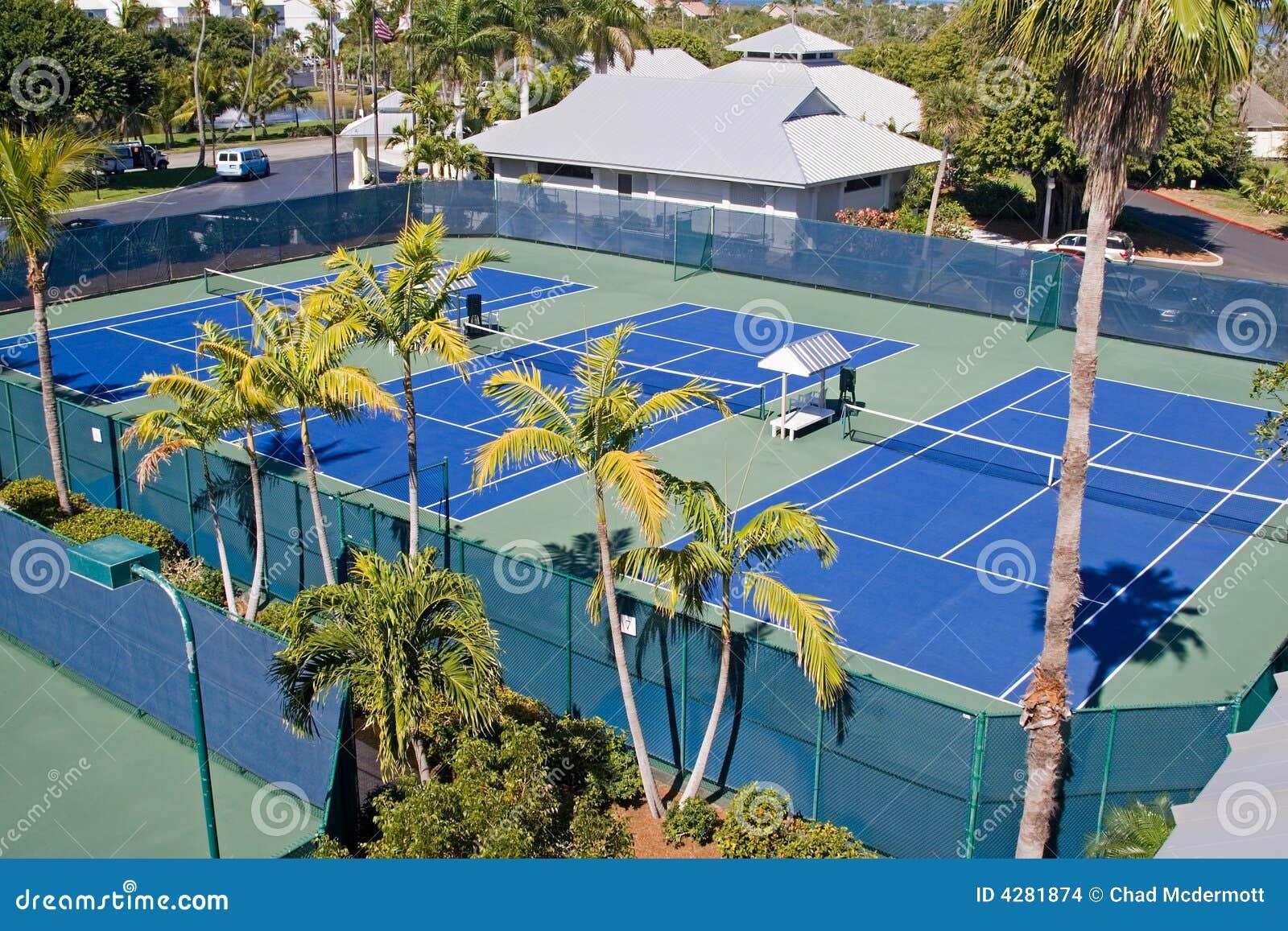 Clube de tênis do recurso