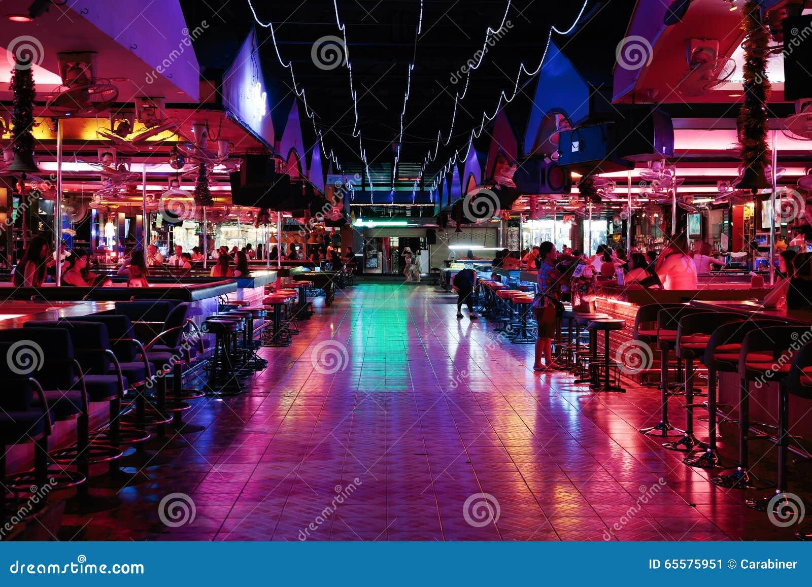 Clube noturno em Tailândia