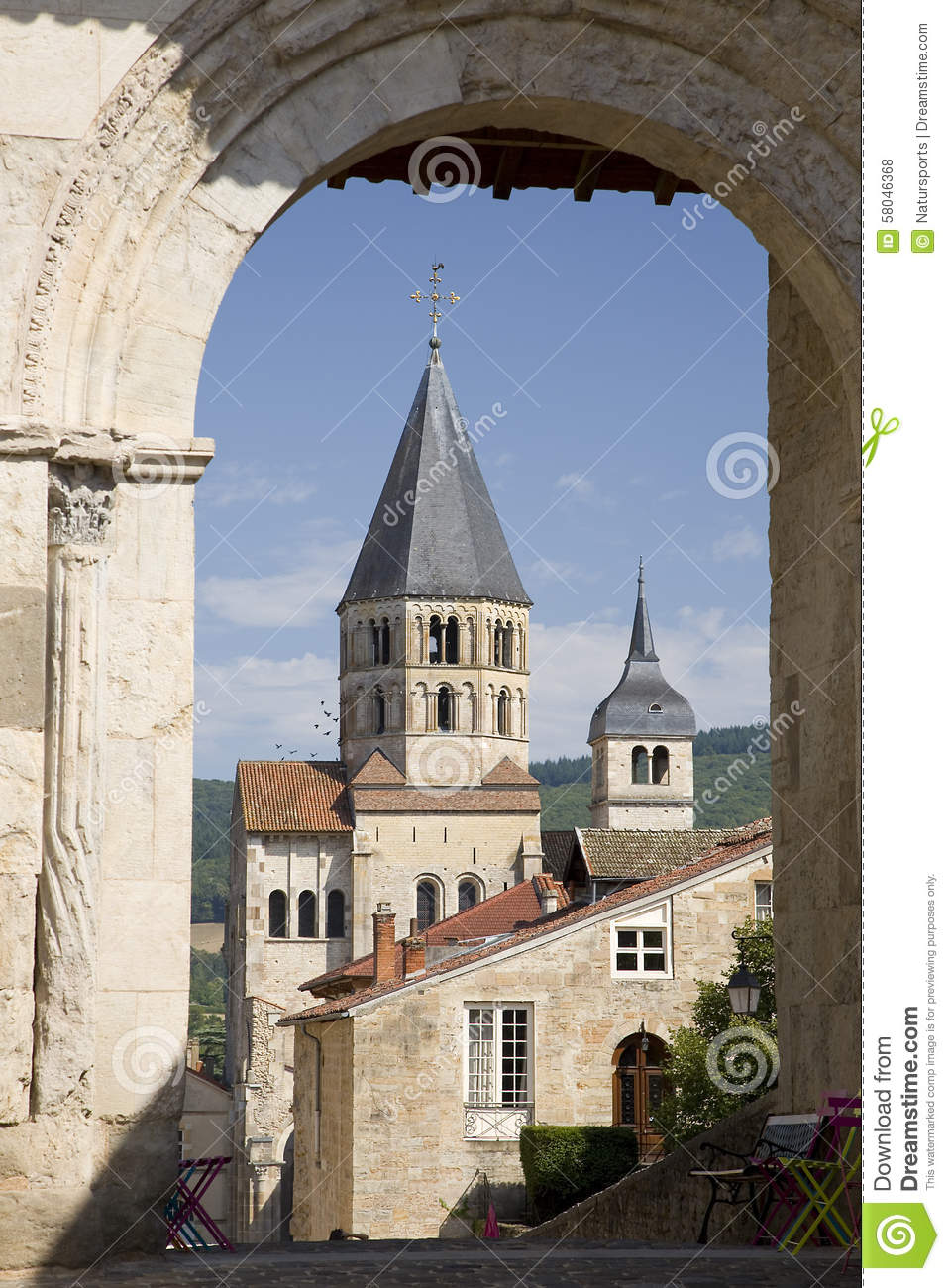 Visit the Abbey of Cluny