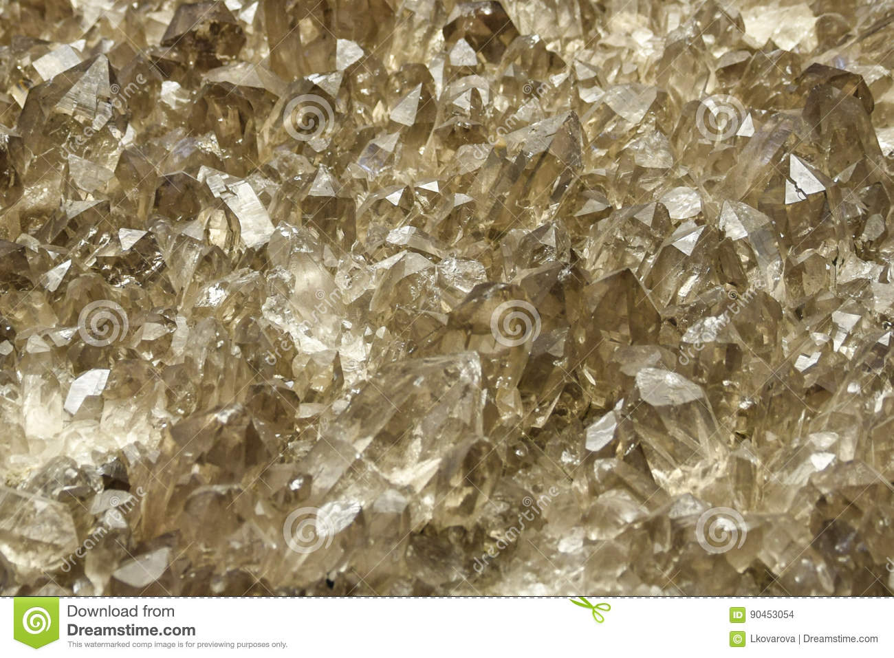 Cluster Of Quartz Crystals Background Stock Photo Image Of