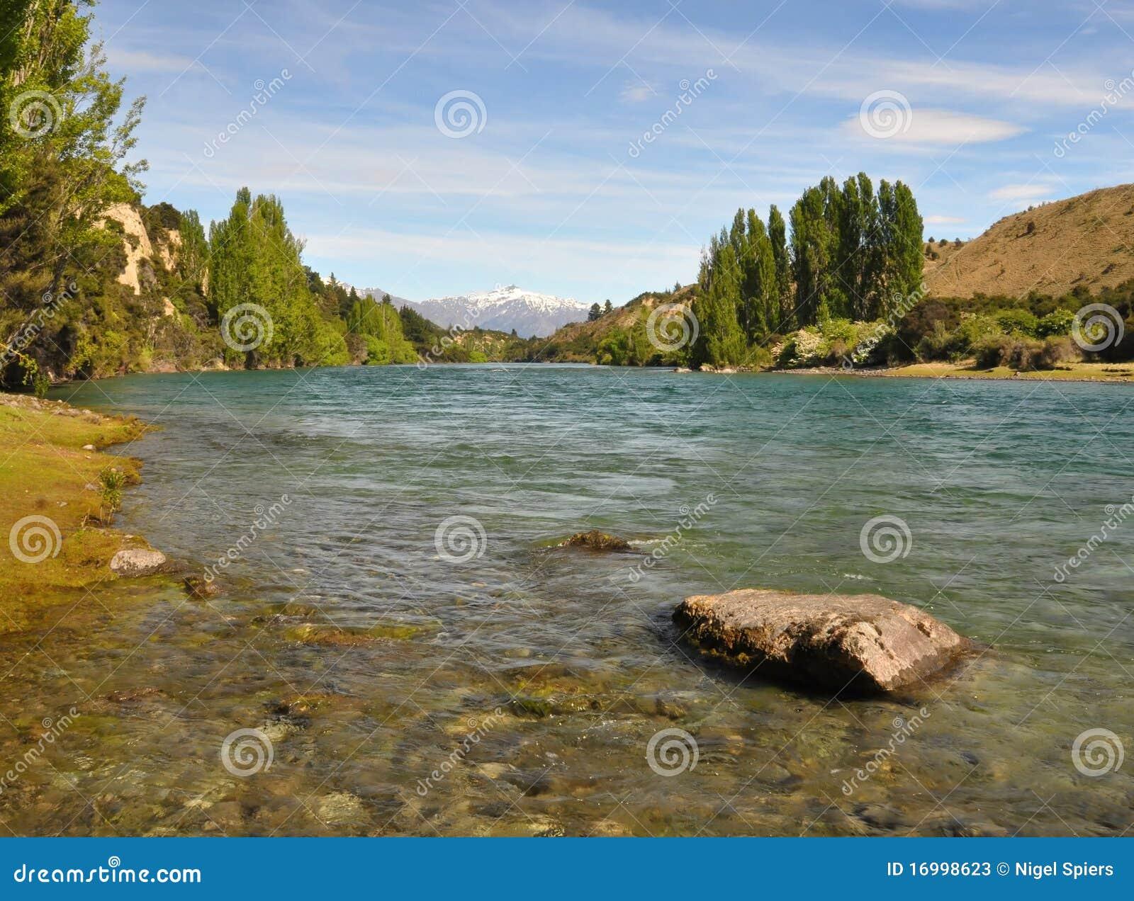Clutha River - Wanaka, New Zealand