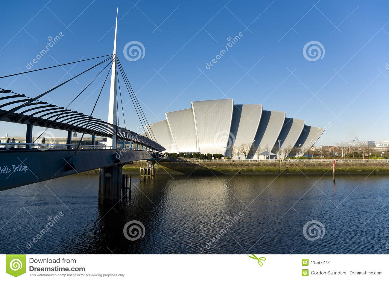 Download Clyde Auditorium stock photo. Image of clyde, river, armadillo - 11587272
