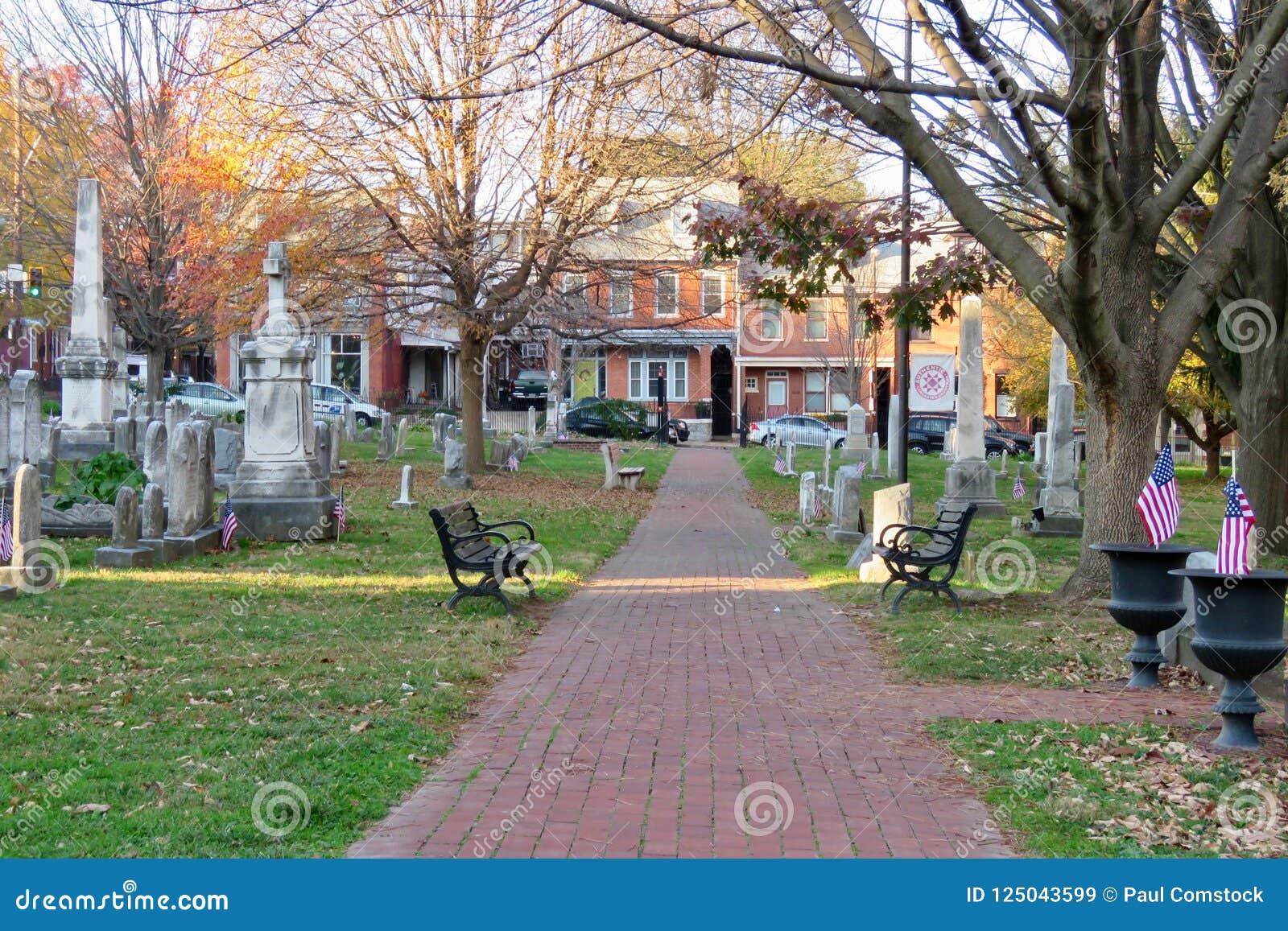 Cmentarz w Lancaster, PA