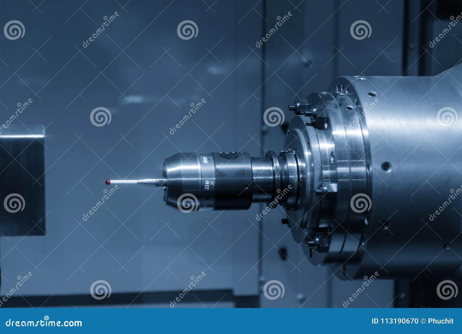 The CMM probe stock photo. Image of horizontal, industrial - 113190670