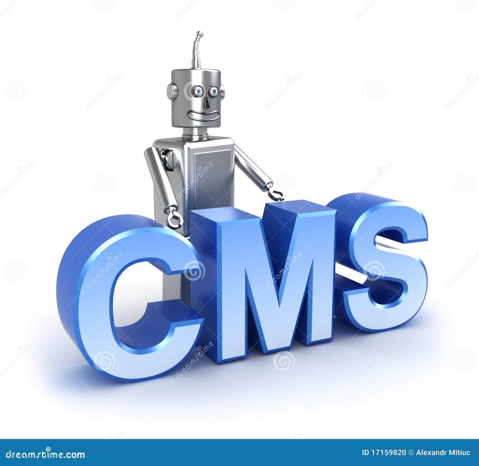 CMS: concepto contento del sistema de gestión