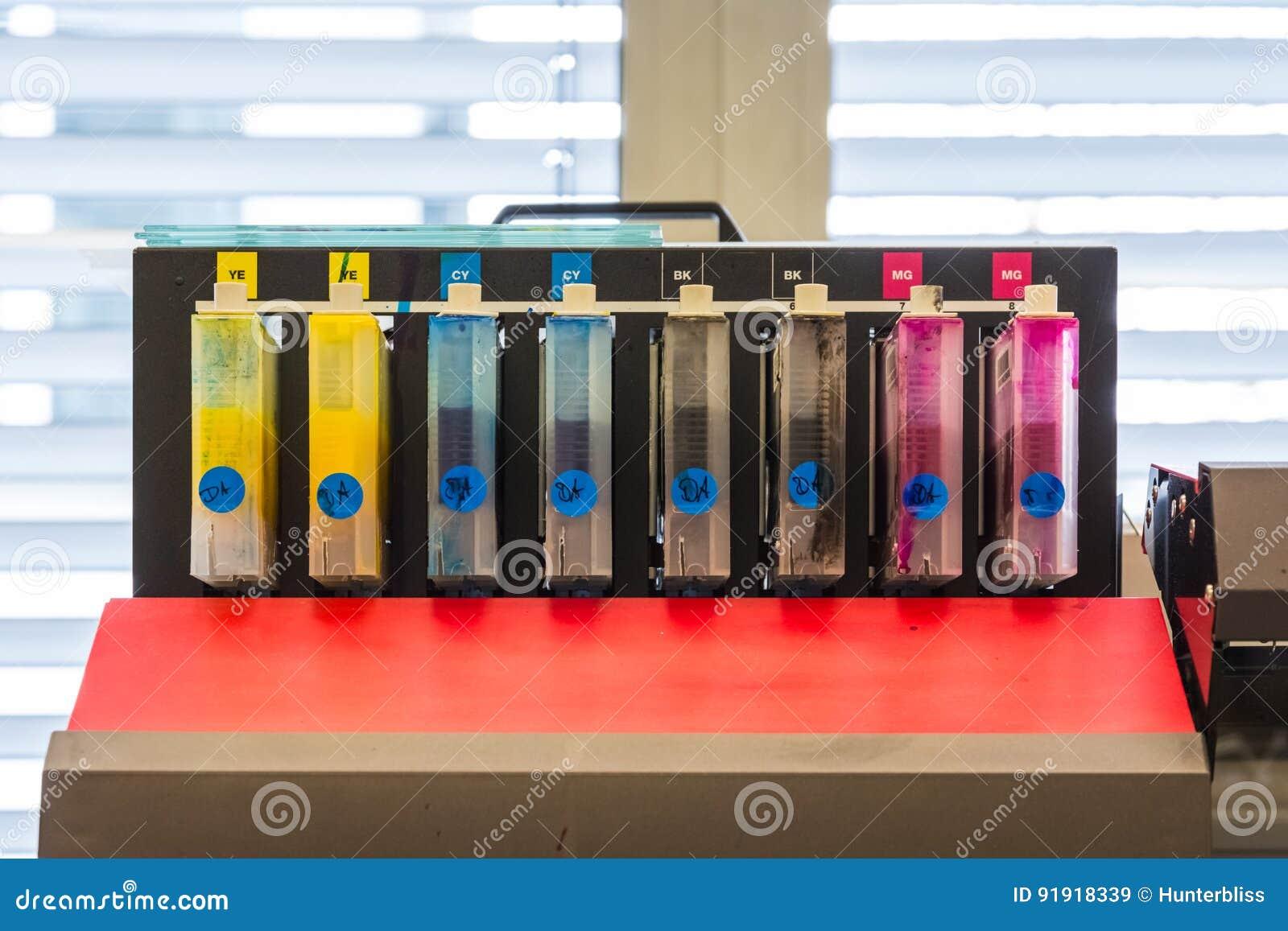 CMYK-Behälter-Farbtinten-Druckindustrie-Ausrüstung Digital P