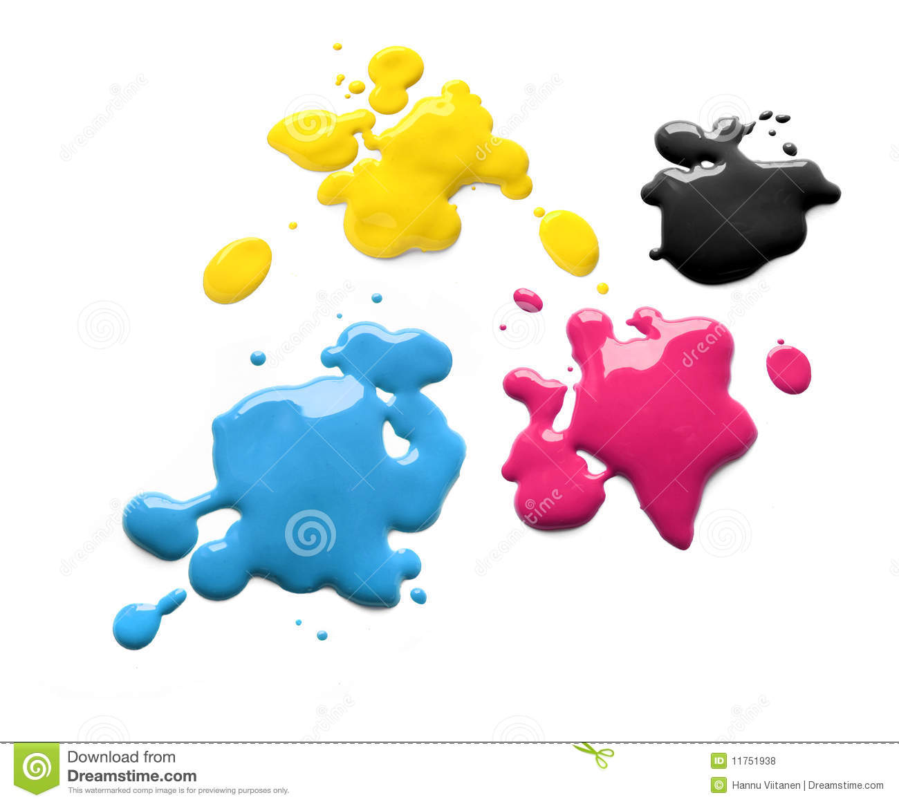 Cmyk d 39 encres d 39 imprimerie illustration stock image du for Plans d imprimerie