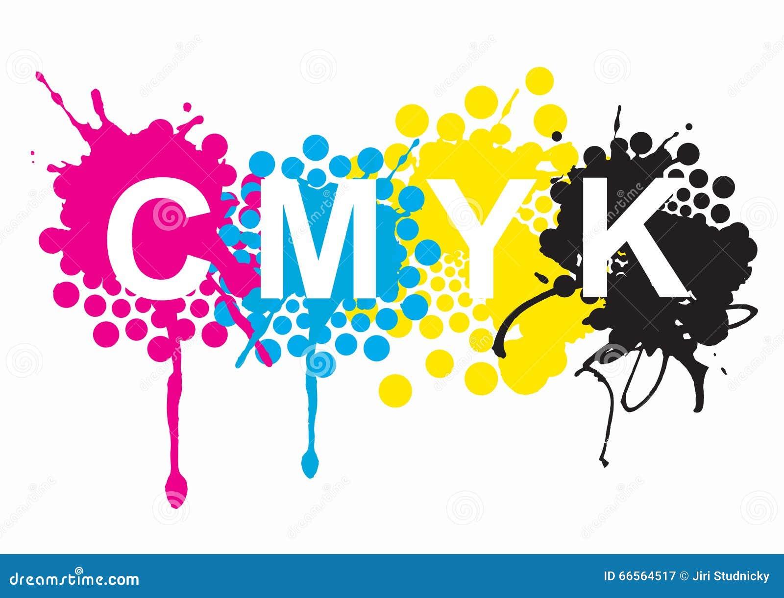 CMYK Print Colors Stock Vector Illustration Of Magenta