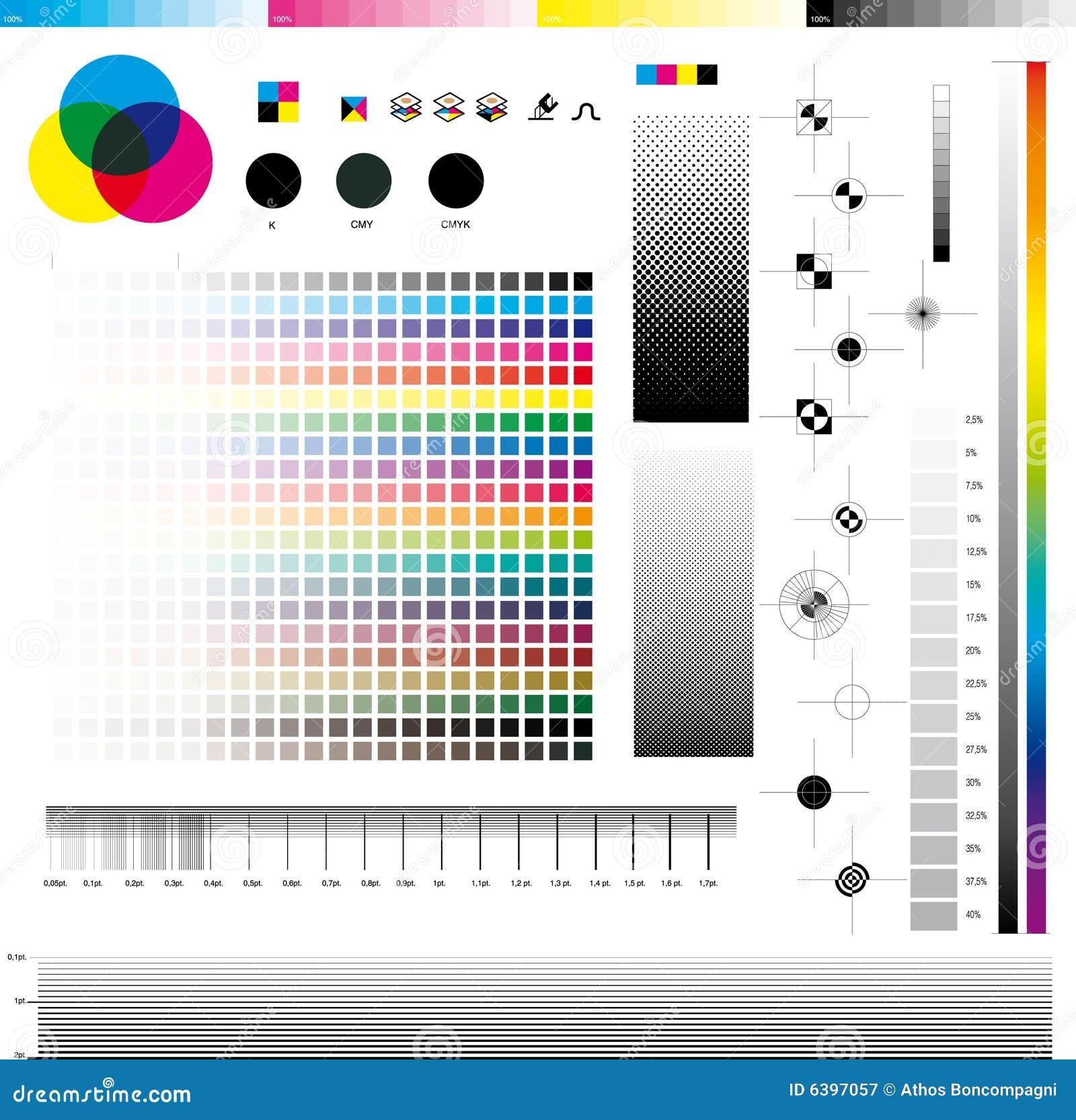 Cmyk Print Utilities Royalty Free Stock Photography Image 6397057