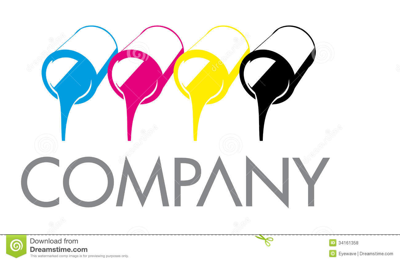 Royalty free stock photo download cmyk printing color