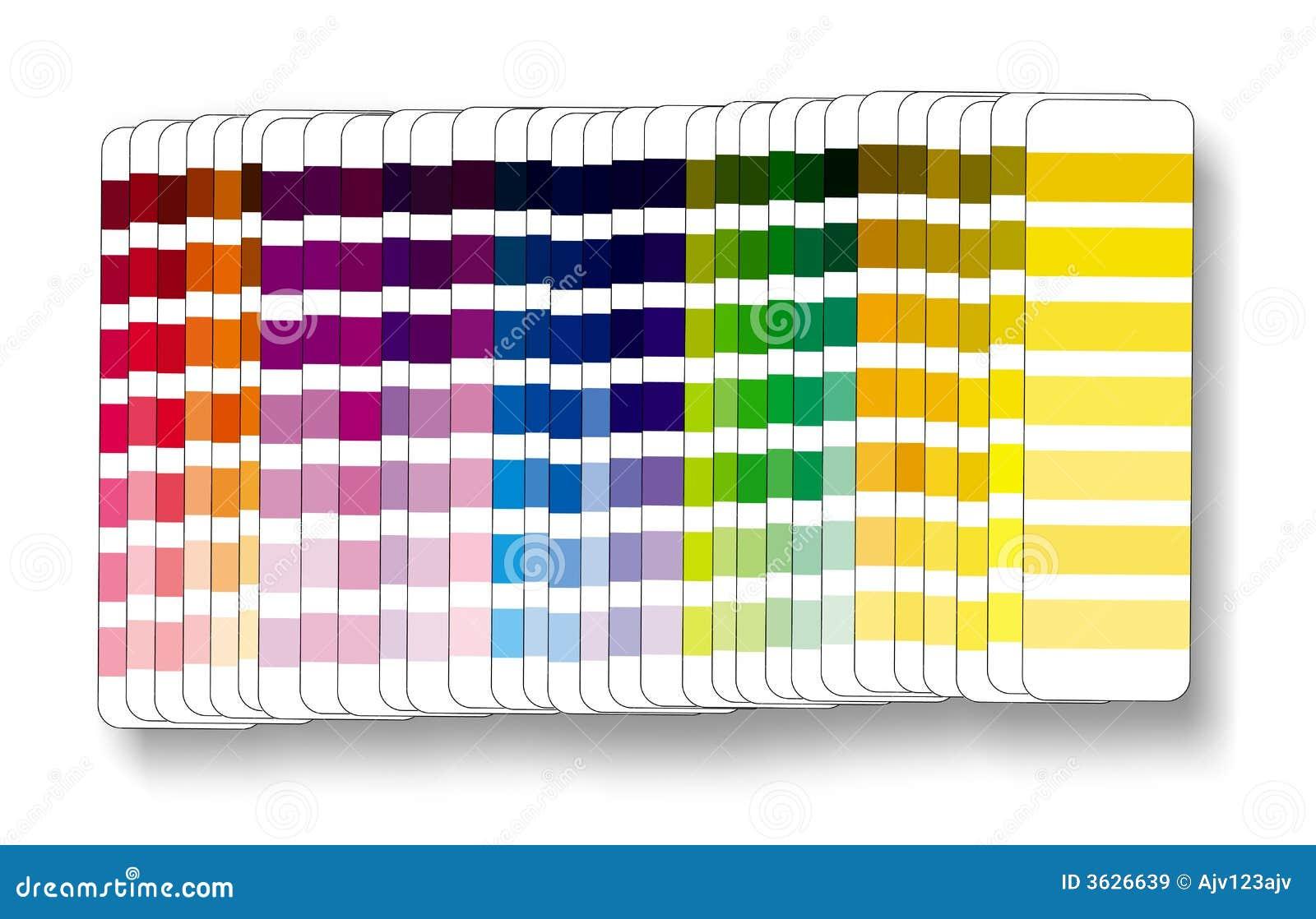 Cmyk Rgb Del Campione Di Colore Immagine Stock Immagine Di Grafico