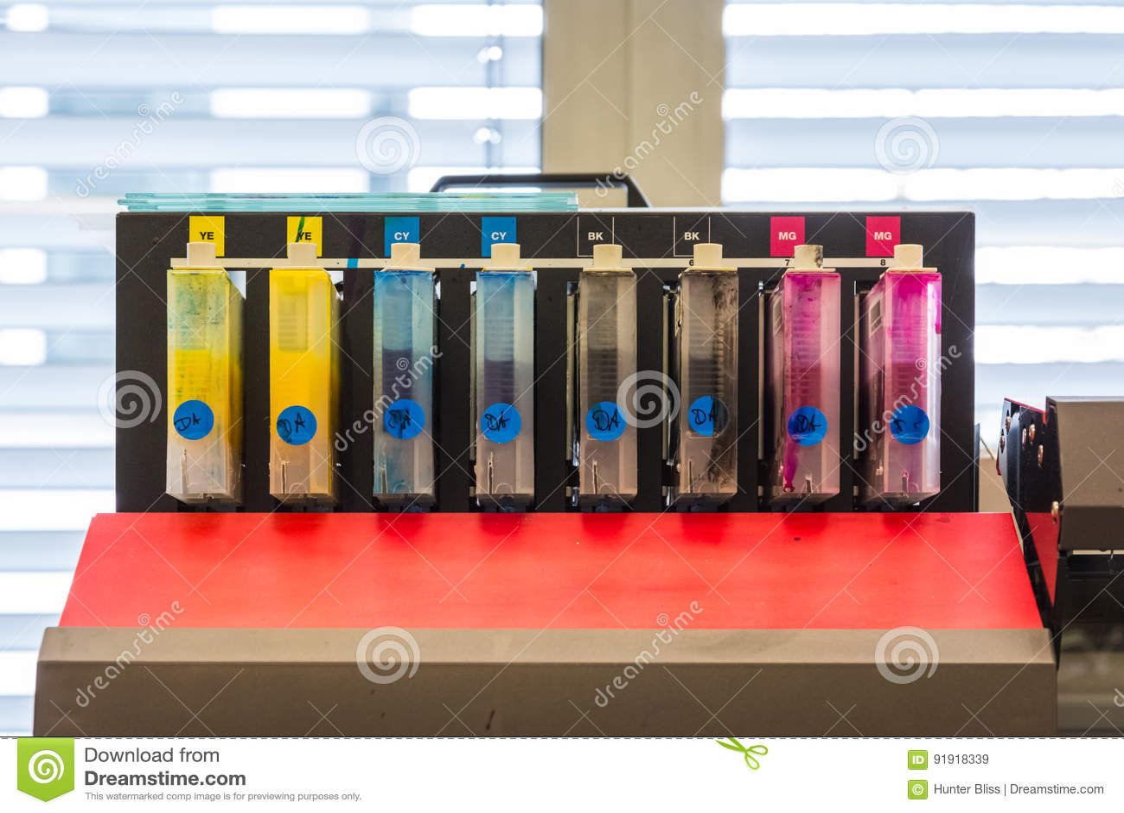 CMYK zbiorników kolorów atramentu Drukowego przemysłu wyposażenie Digital P