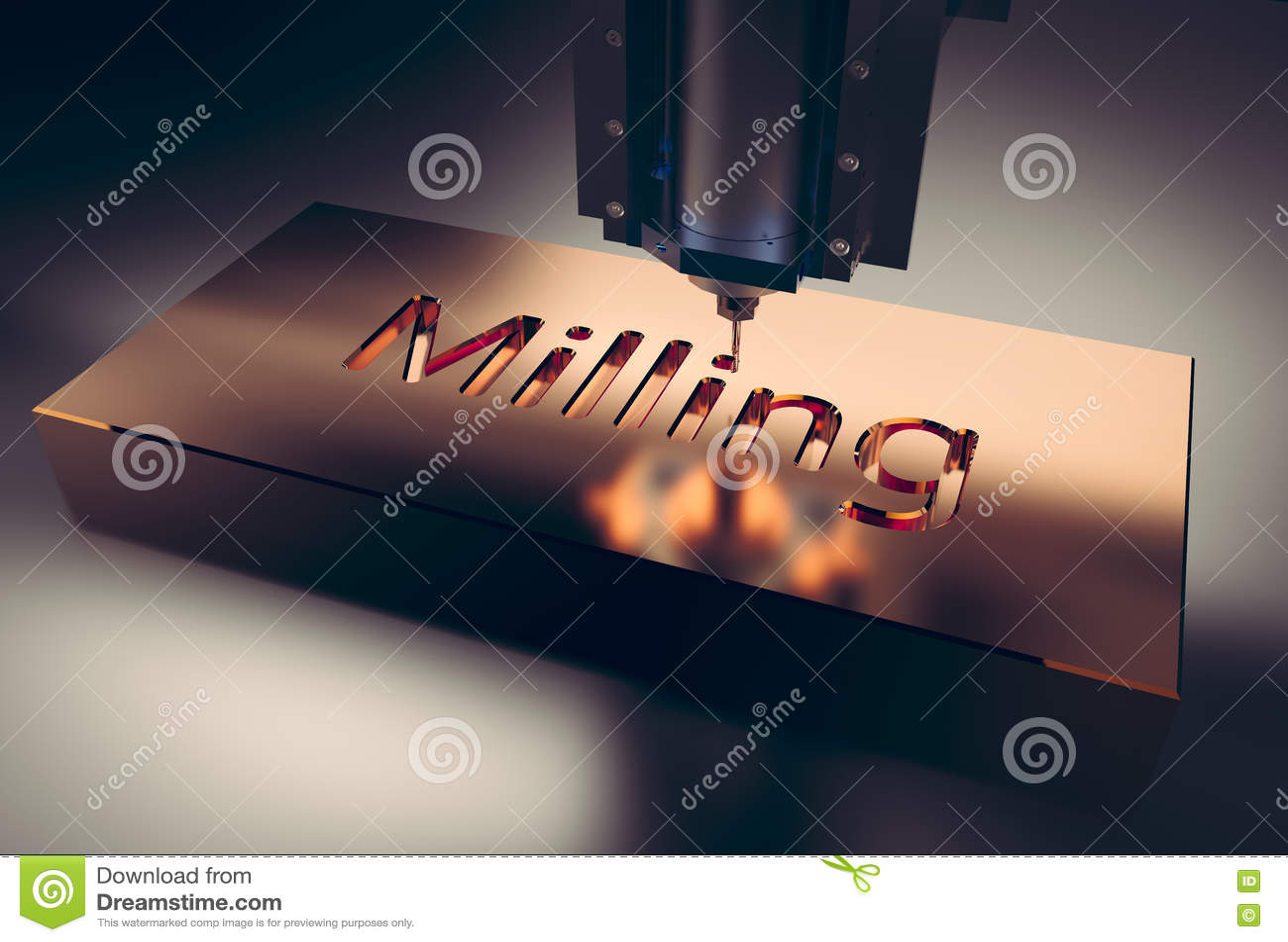 CNC mielenia maszyna