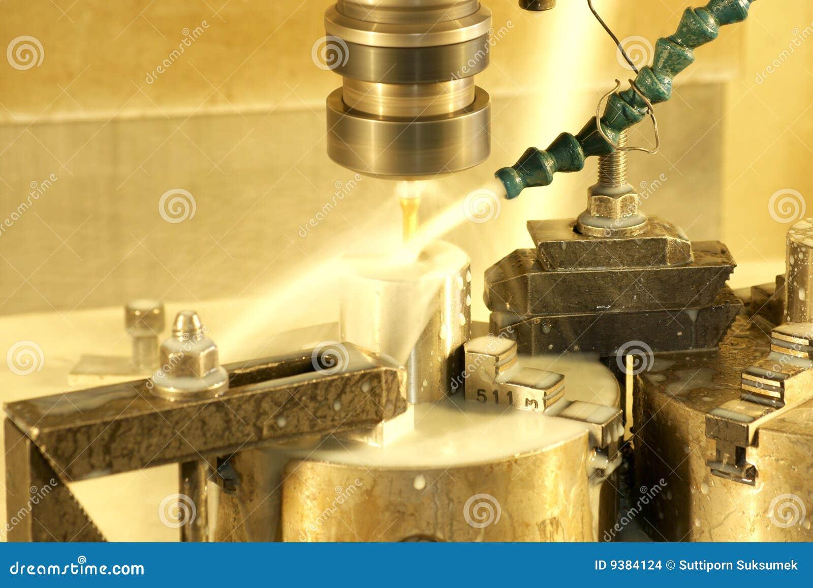 Cnc Milling Machine Stock Images Image 9384124