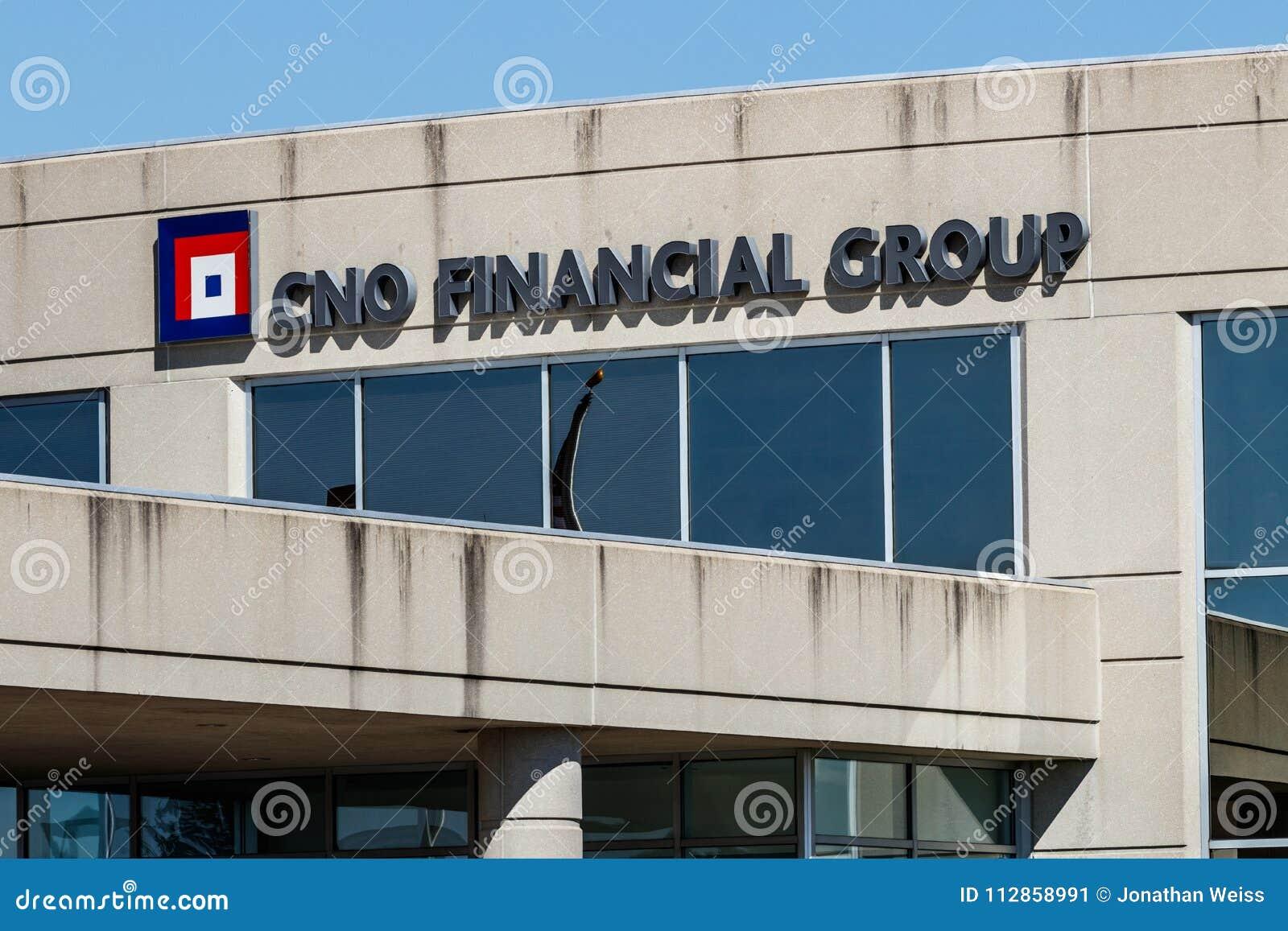 Carmel - Circa March 2018: CNO Financial Group ...