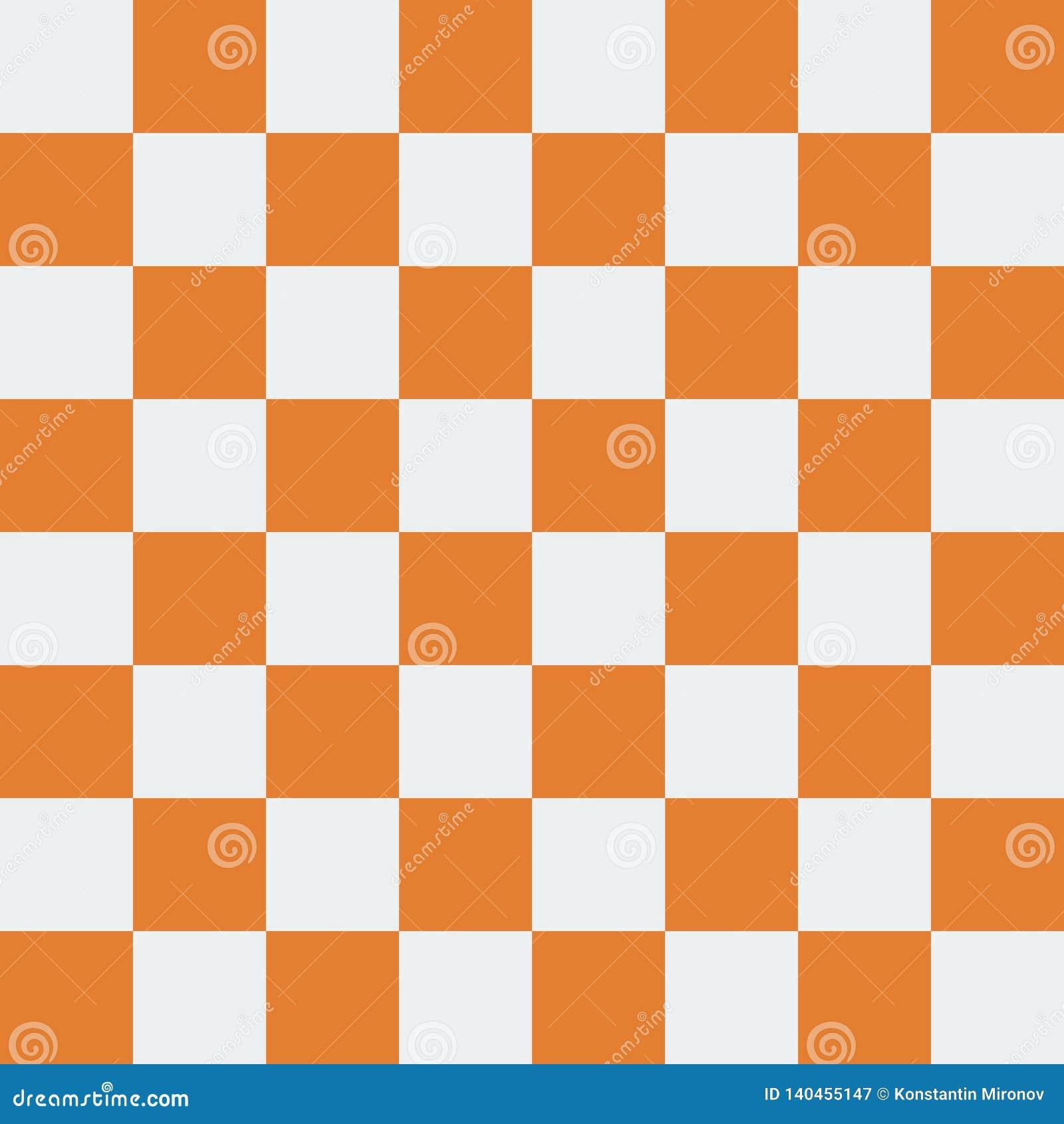 Современная иллюстрация вектора дизайна предпосылки шахматной доски Коричневый цвет шахматной доски Eps10Seamless современный и р