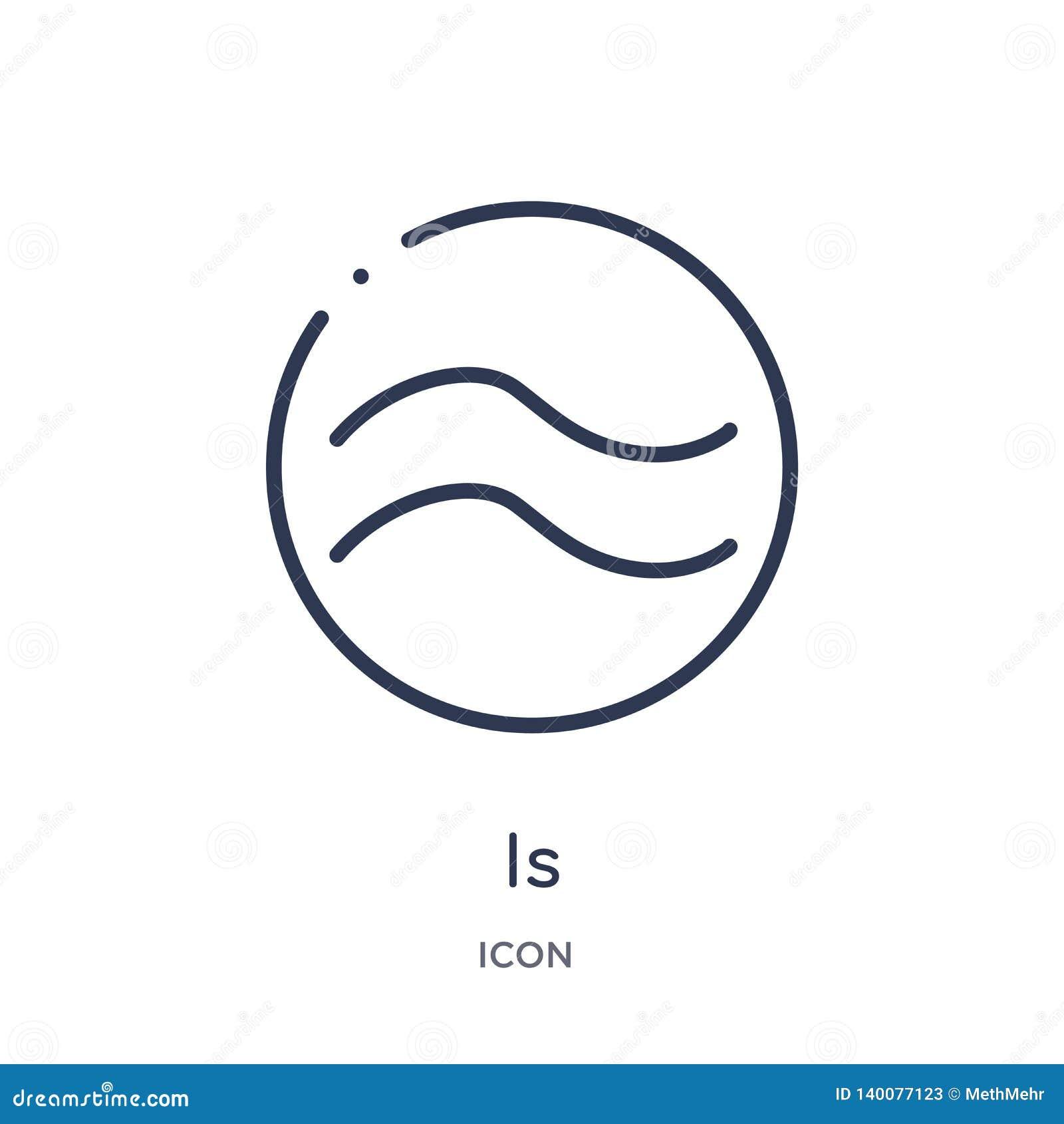 составляет около равное к значку от форм и собрания плана символов Тонкая линия составляет около равный к значку изолированному д