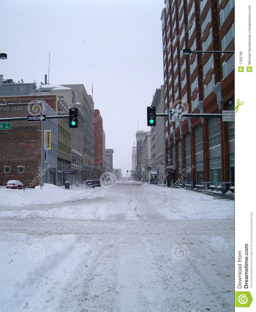 Denver Blizzard: CO Blizzard 6 Stock Photo. Image Of Chilly, Denver, Freeze