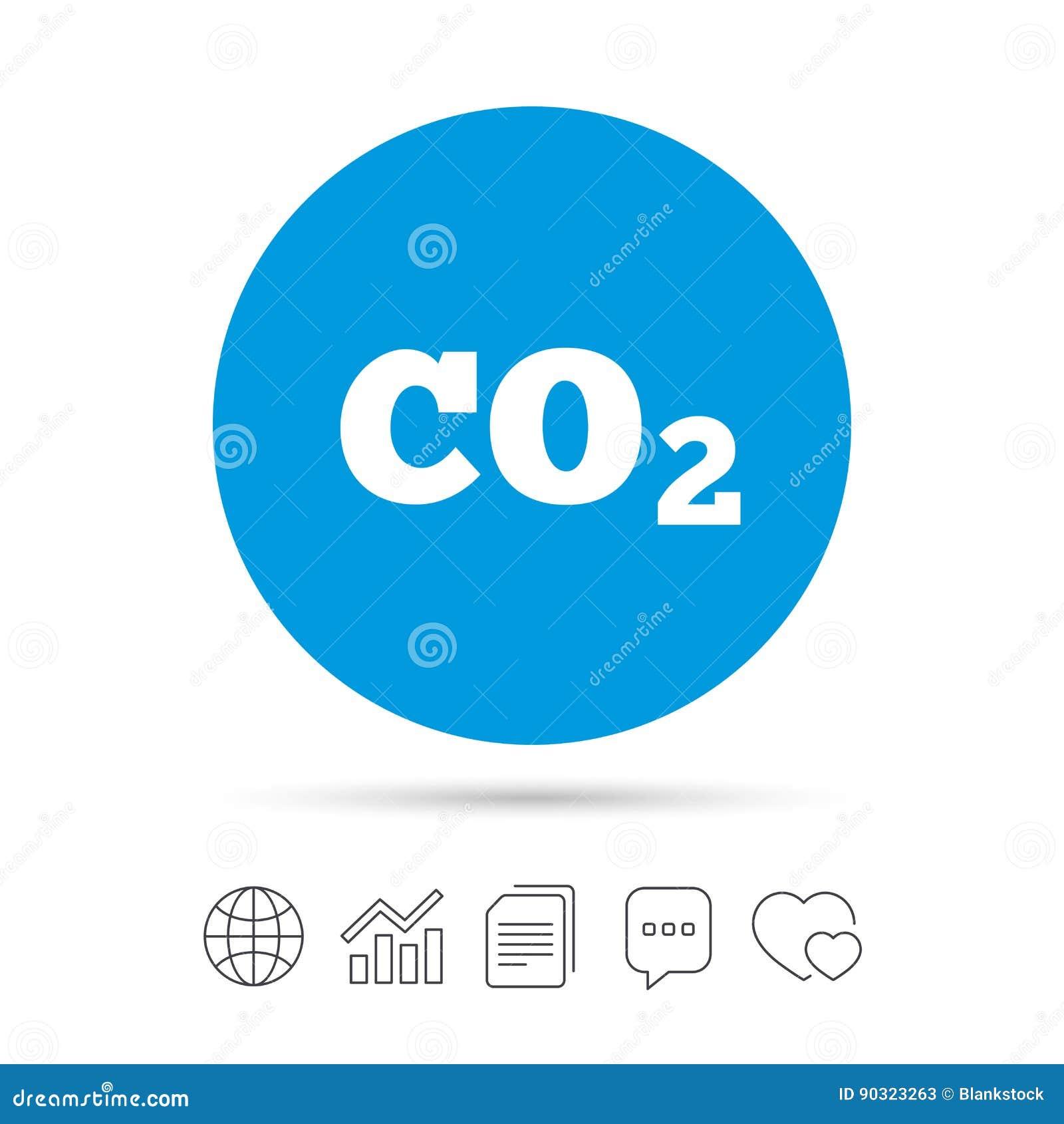 Co2 carbon dioxide formula sign icon chemistry stock vector co2 carbon dioxide formula sign icon chemistry buycottarizona Images
