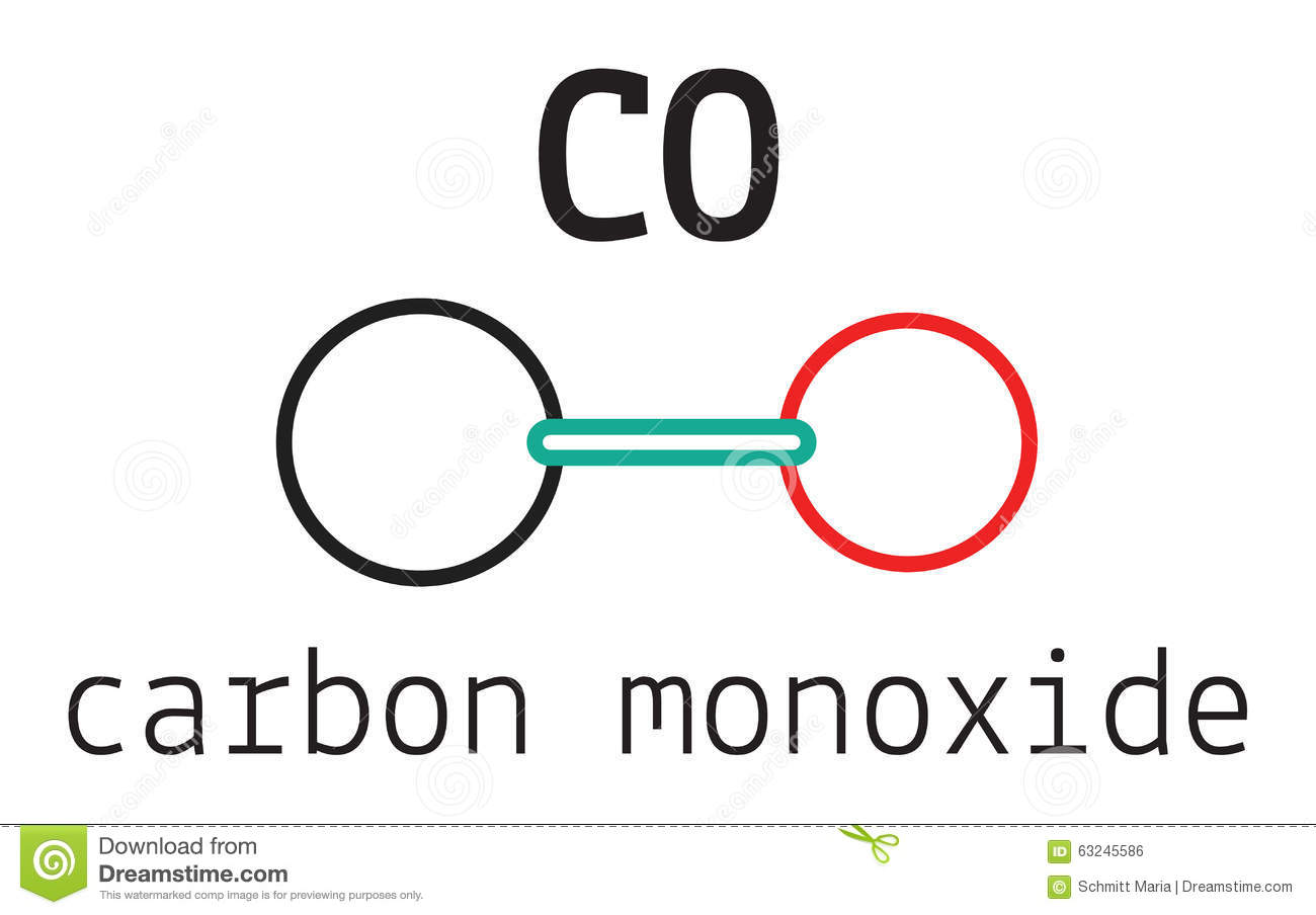 Carbon Monoxide Molecule Diagram Trusted Wiring Dioxide Co2 Atomic Royalty Free Stock Photo Image Co Vector Illustration Of Structure