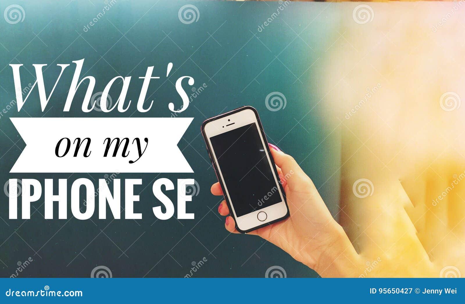 Co jest na mój iphone se