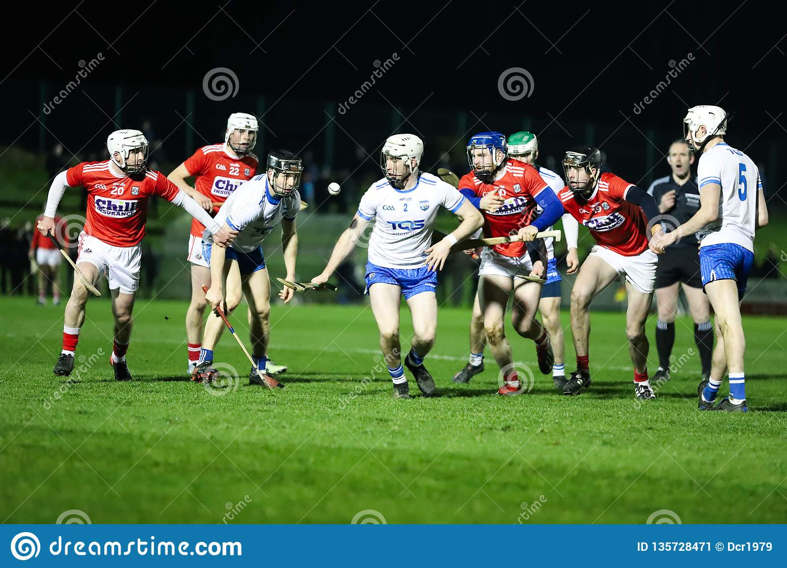 Co-Op Superstores Munster Hurling League 2019 match between Cork and Waterford at Mallow GAA Sports Complex