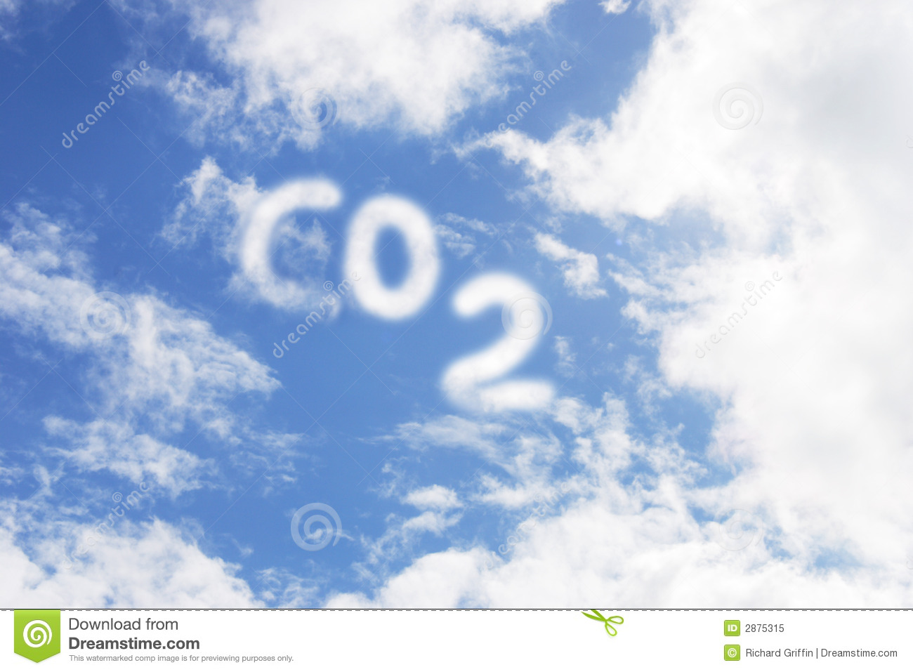 Co2 Royalty Free Stock Photo Image 2875315