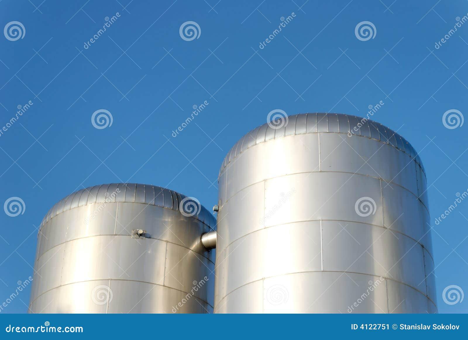 CO2 Vorratsbehälter