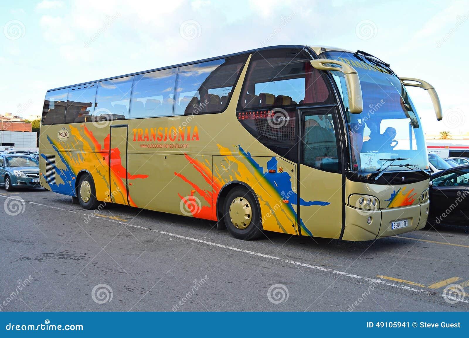 A Coach Or Luxury Bus