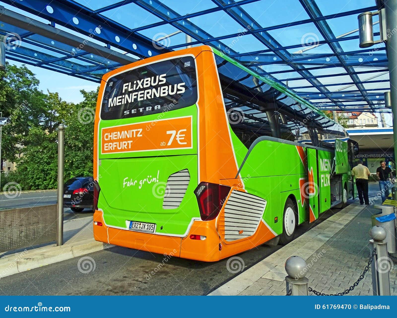 coach of meinfernbus flixbus in chemnitz editorial image image 61769470. Black Bedroom Furniture Sets. Home Design Ideas