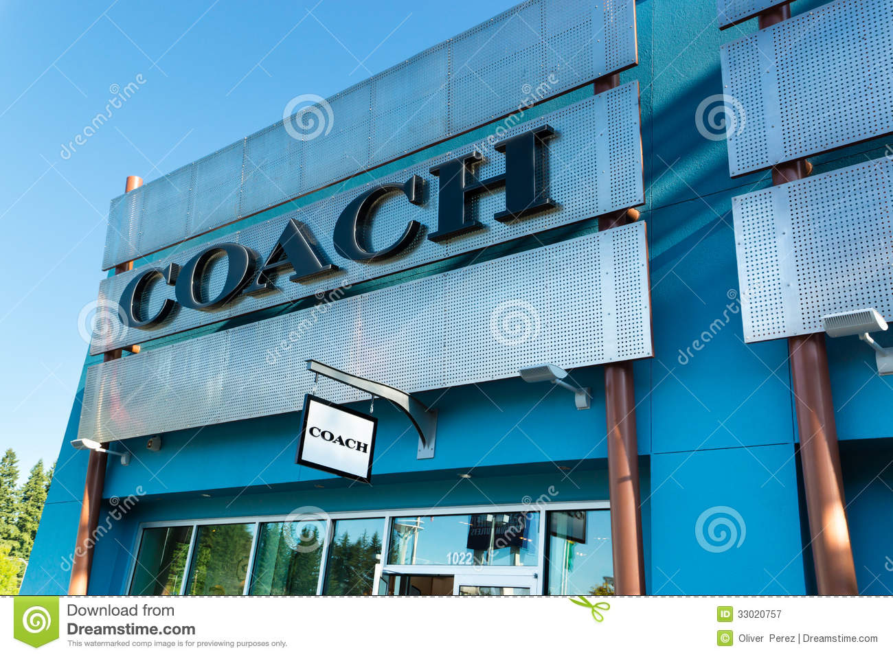 coach at premium outlets j2ie  Coach outlet store Editorial Photography