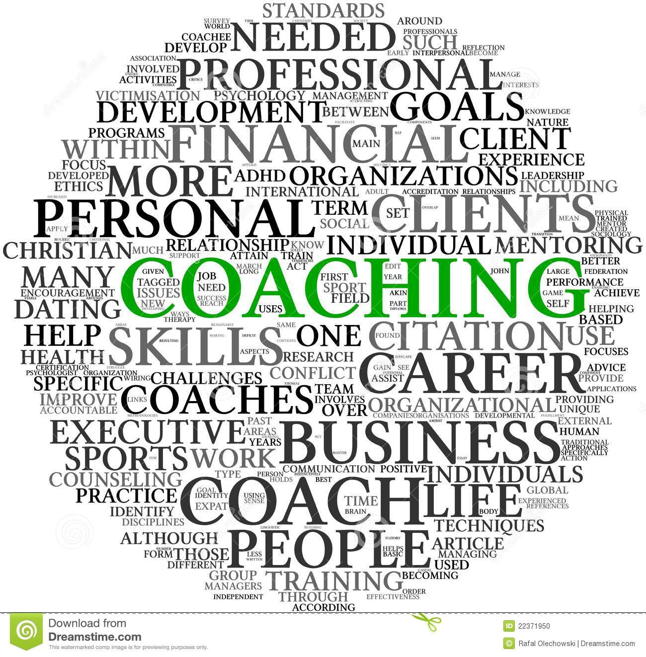 Personal Development In Tag Cloud Royalty Free Stock Image - Image ...