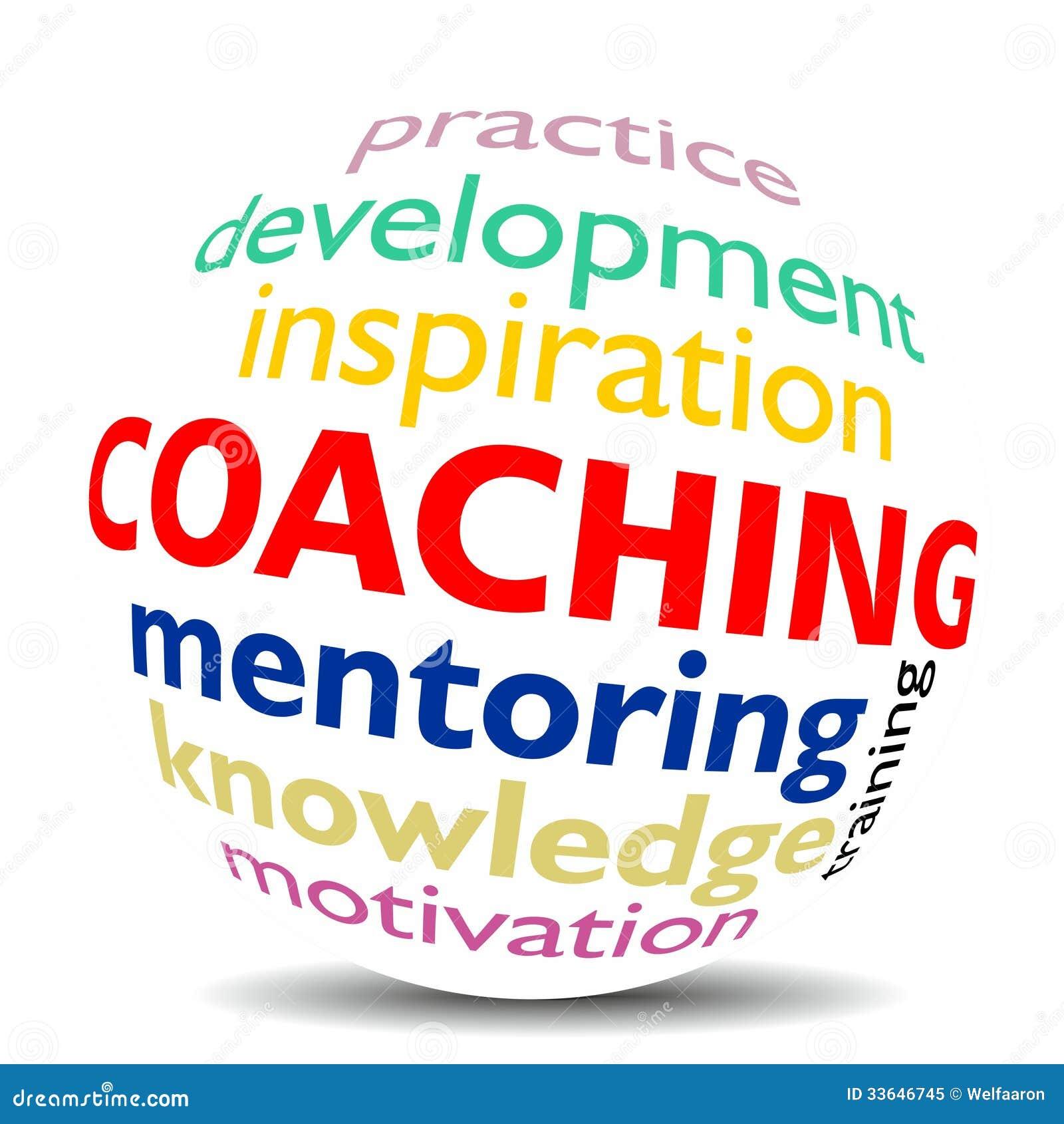 Coaching: COACHING Stock Illustration. Illustration Of Motivation