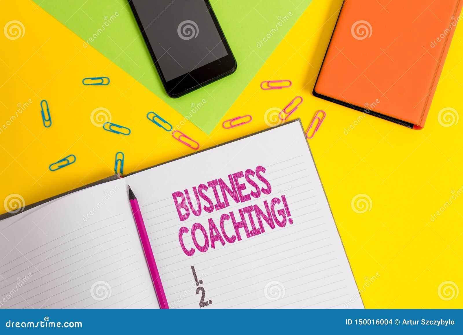 Coachning f?r handskrifttextaff?r Hjälpande anställda för begreppsbetydelse att bli aktivare konsultera ett sakkunnigt mellanrum