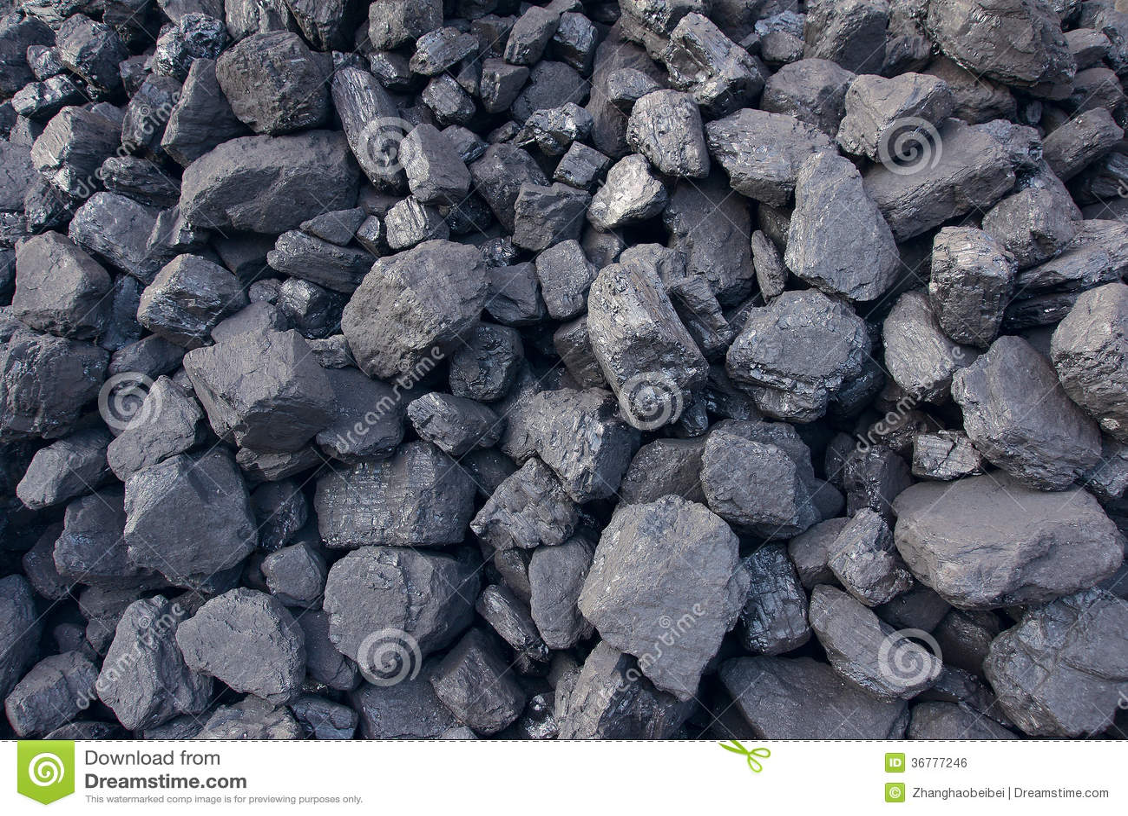 Coal cinder