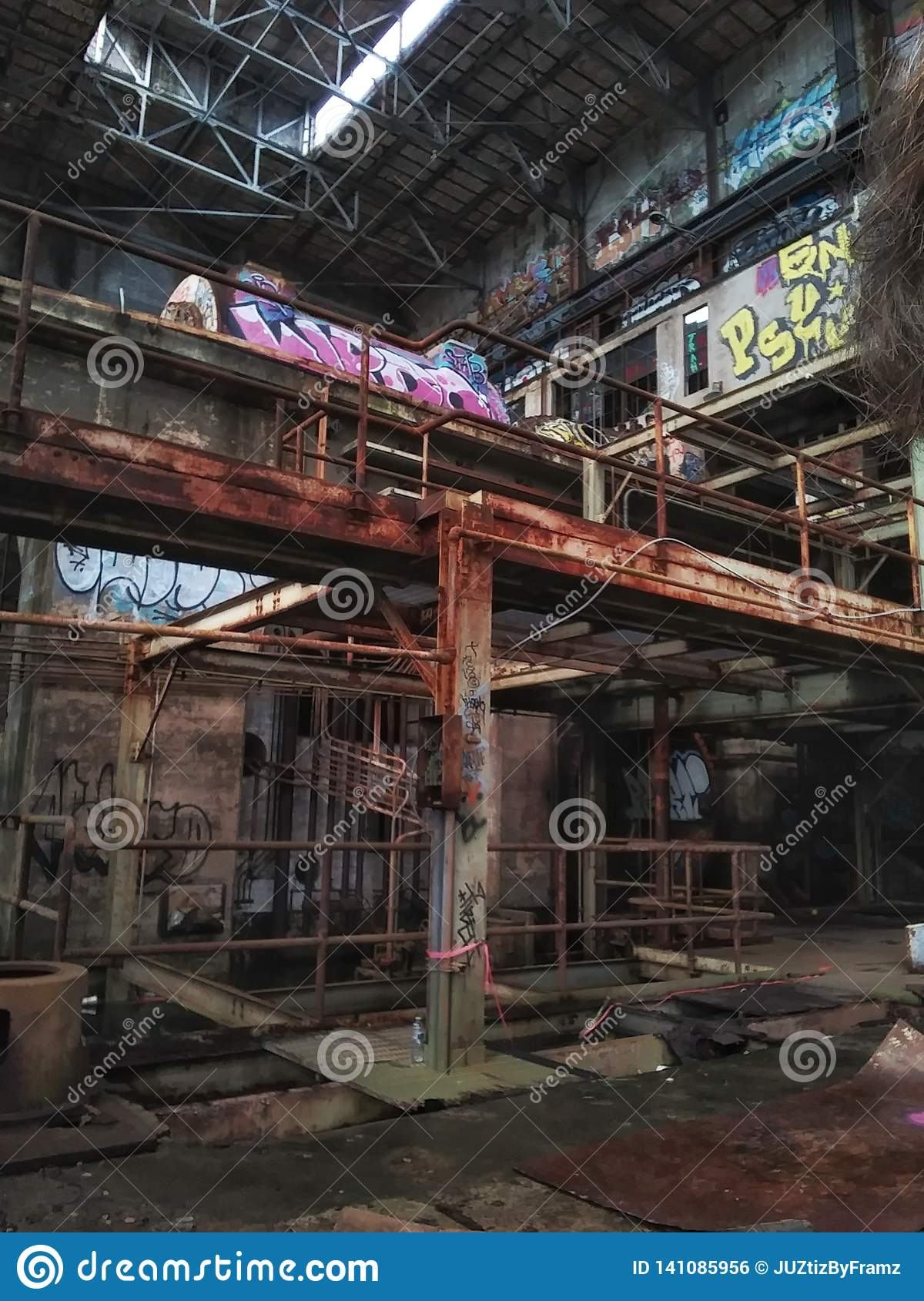 Market Street New Orleans abandoned power plant