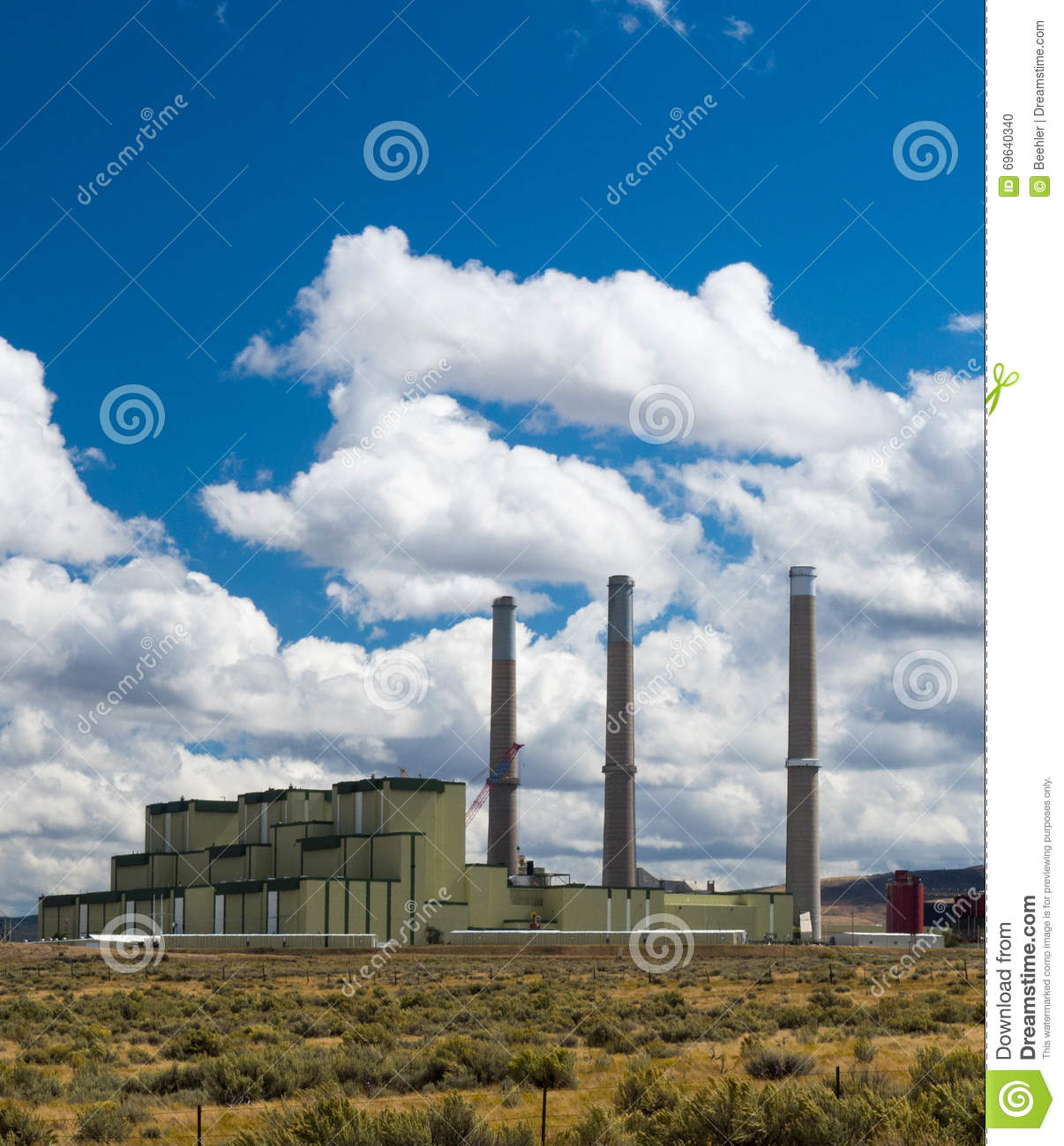 Western US Coal Fired Power Plant