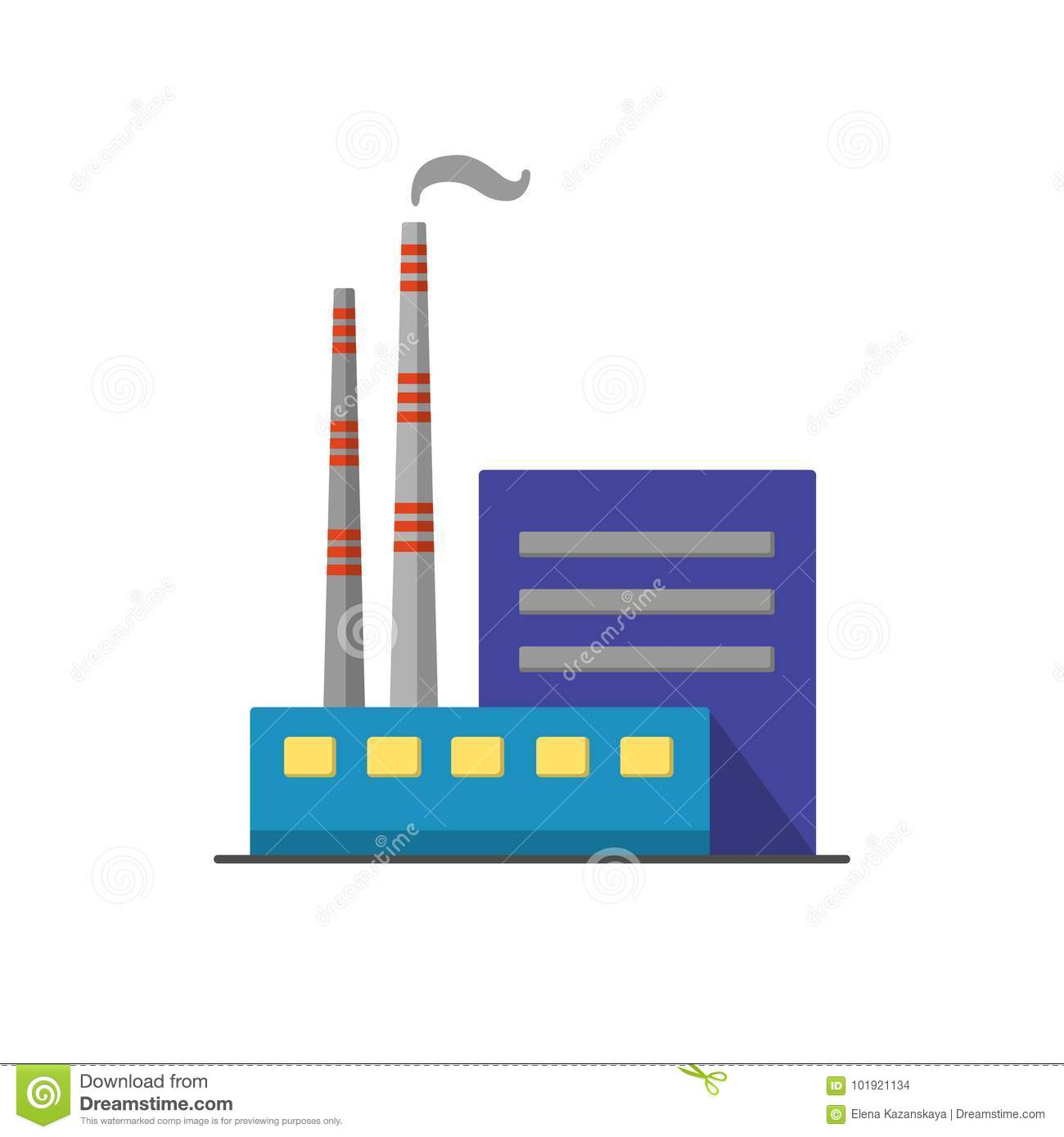 Fossil Fuel Plant Diagram Coal Power Download Icon In Flat Style Stock Vector Illustration Of Chimney Emblem 1300x1390