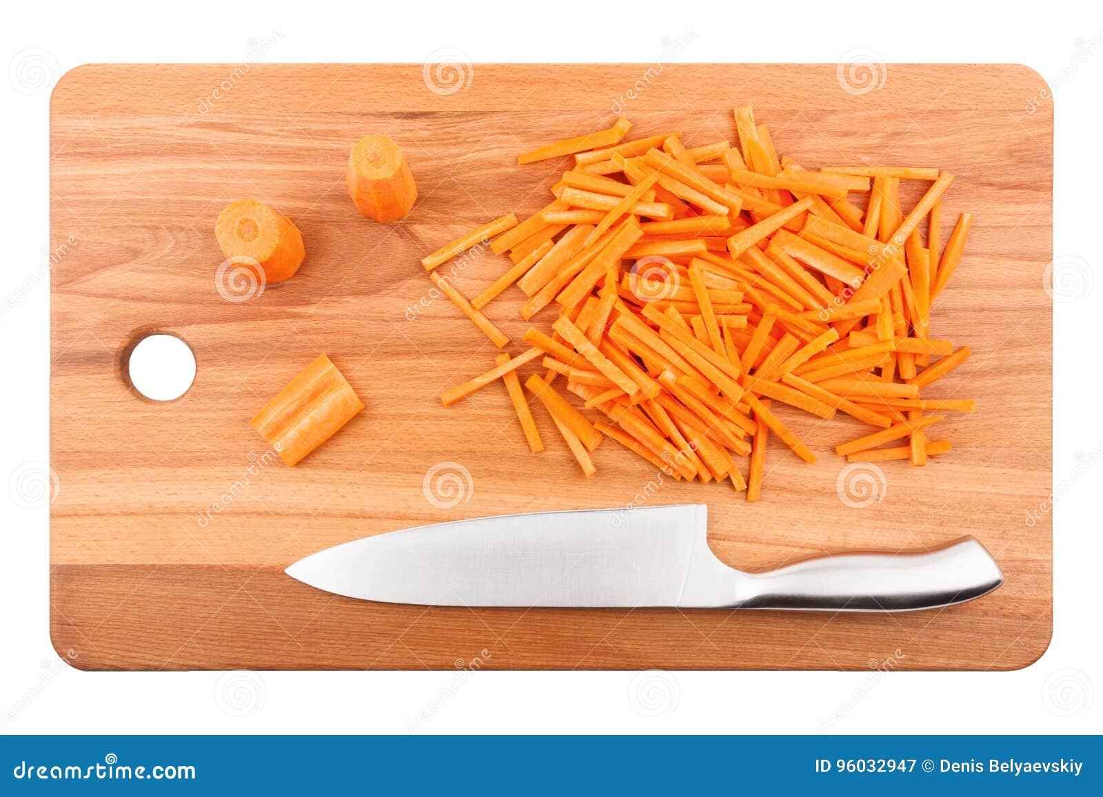Coarsely Siekać marchewki