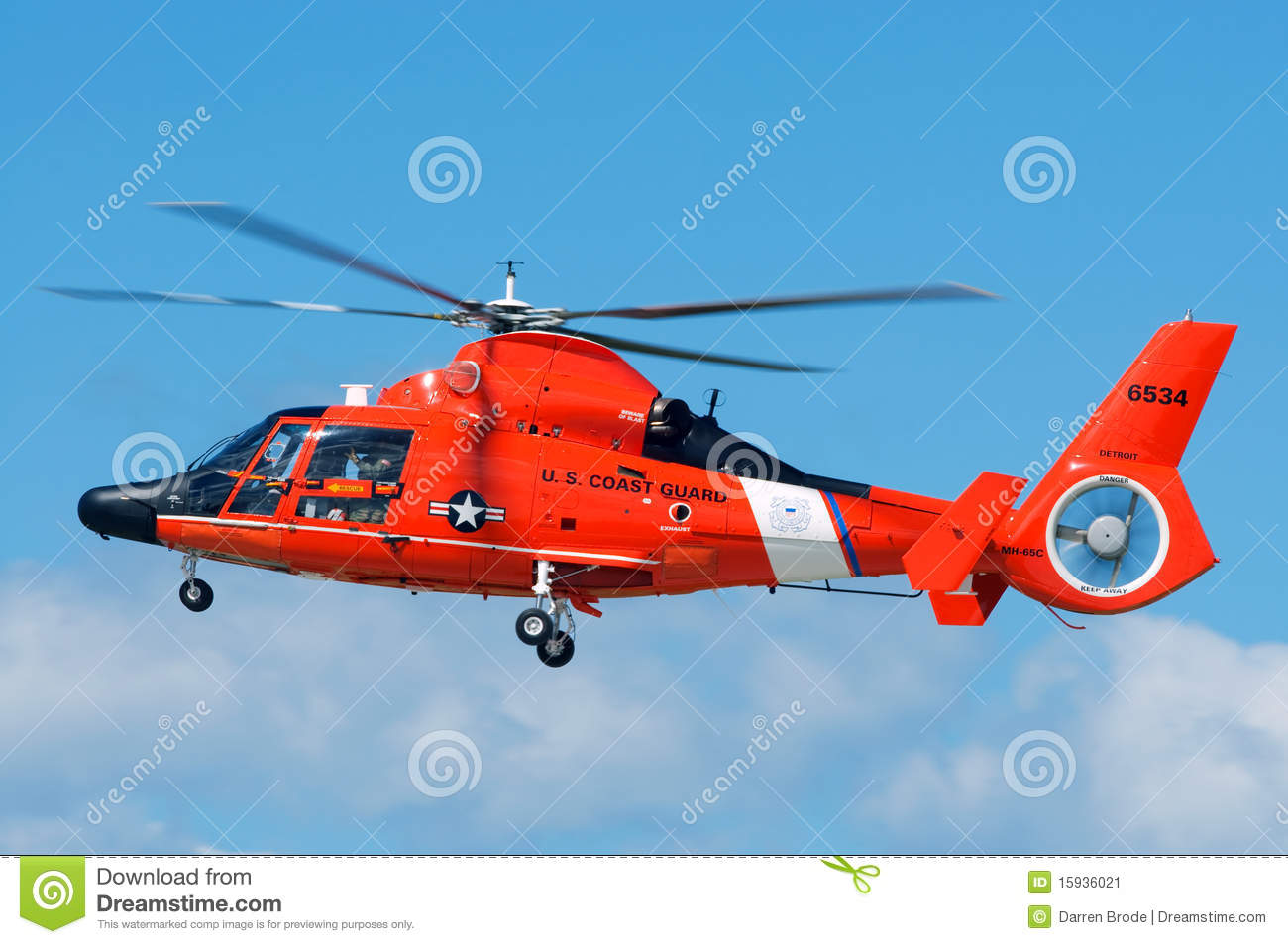 Coast Guard Rescue Helicopter Editorial Photo  Image 15936021