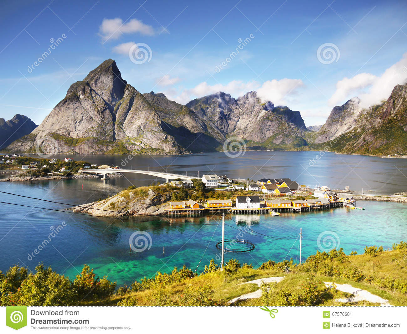 coast lofoten islands scenic norway landscape 67576601